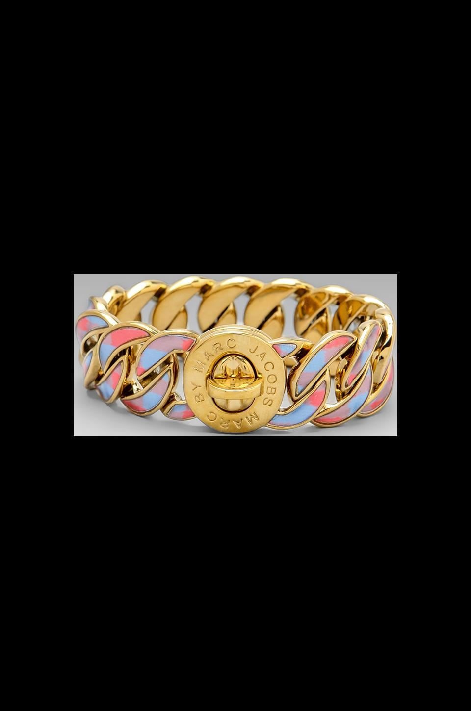 Marc by Marc Jacobs Printed Katie Bracelet in Coral Red Multi