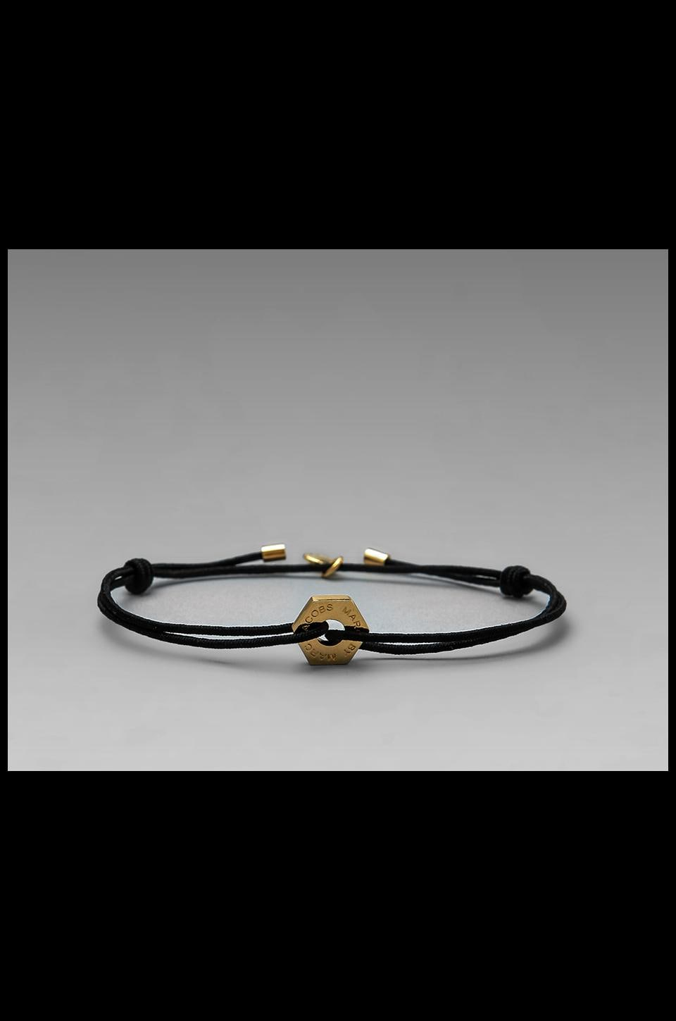 Marc by Marc Jacobs Bolt Friendship Bracelet in Black