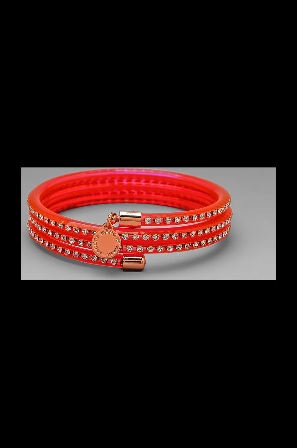Marc by Marc Jacobs Slinky Bangle in Knockout Pink