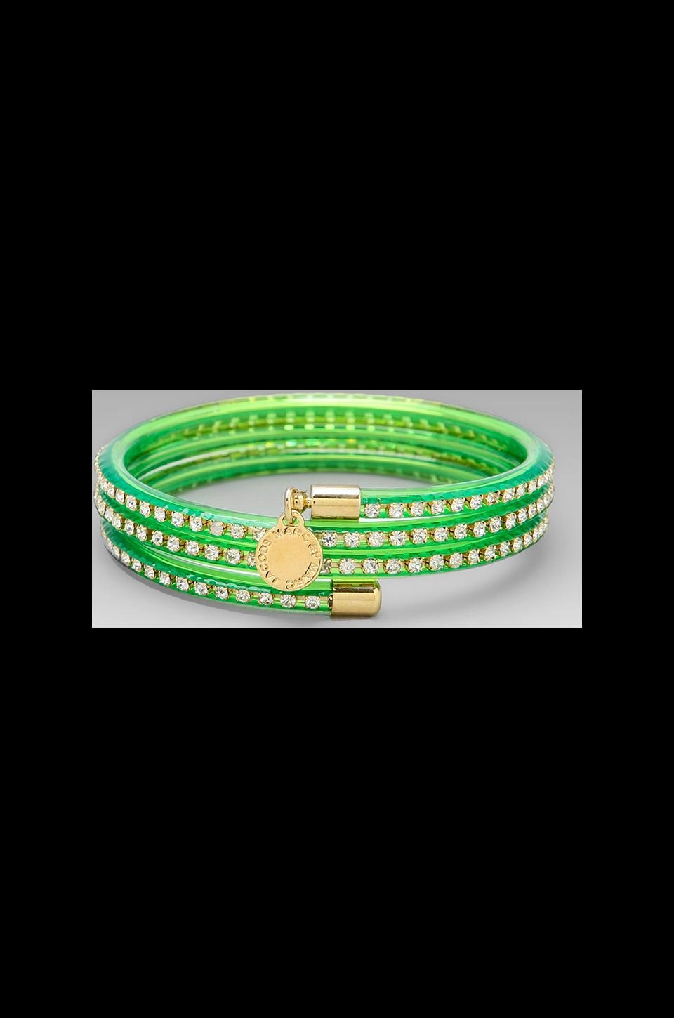 Marc by Marc Jacobs Slinky Bangle in Toucan Green