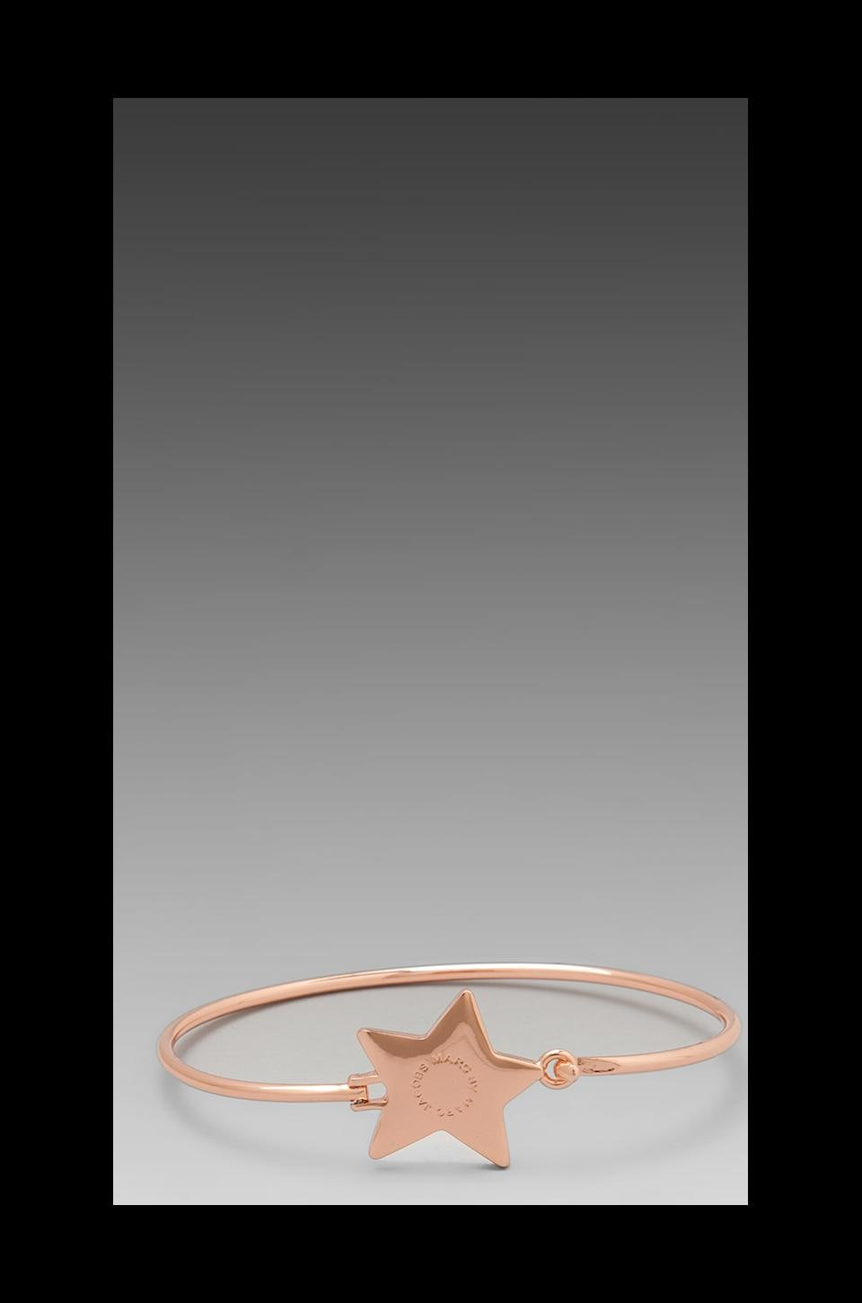 Marc by Marc Jacobs Reluctant Stars Skinny Bangle in Rose Gold