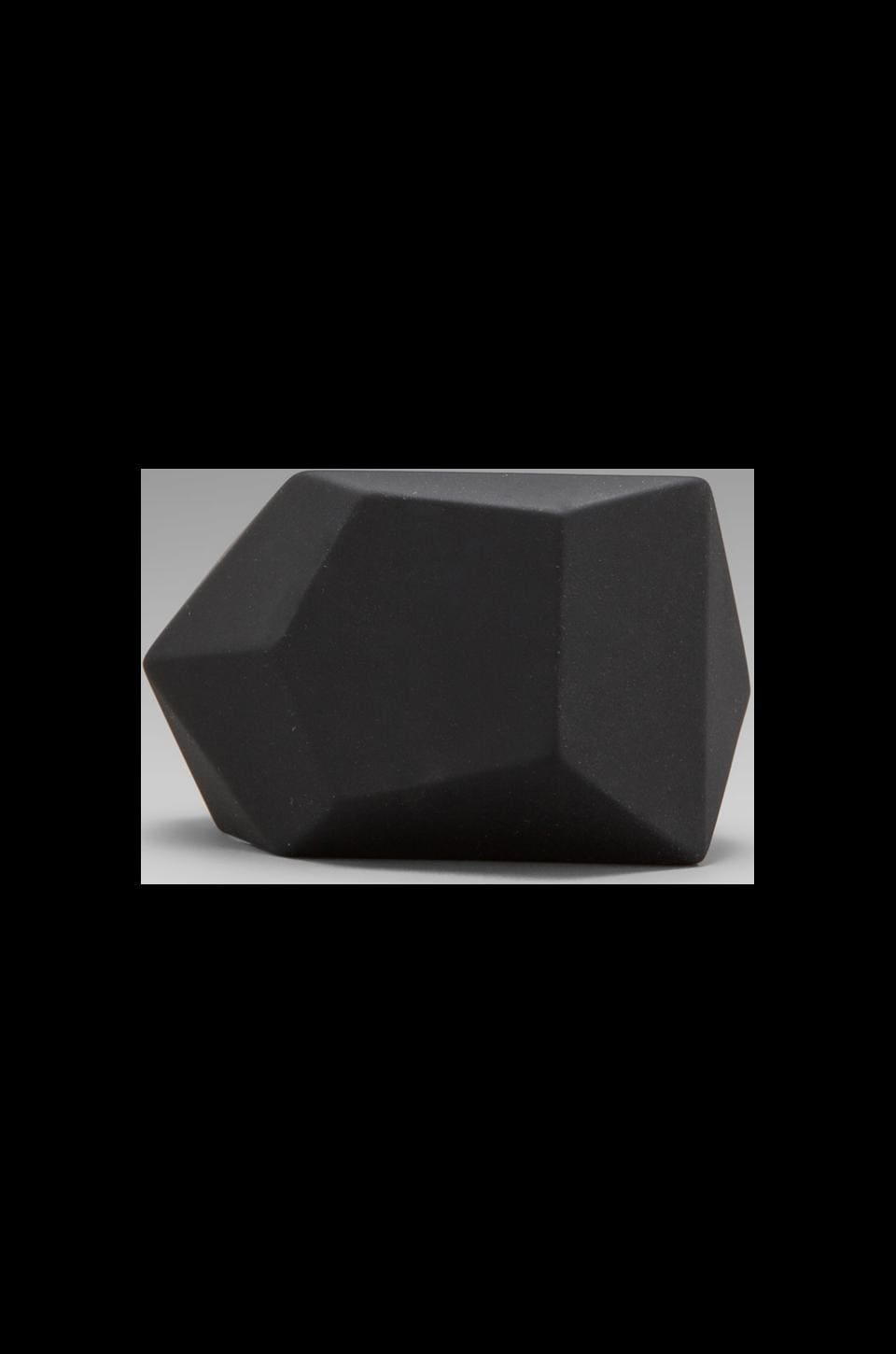 Marc by Marc Jacobs Fake Jewels Rubber Rock Cuff in Black