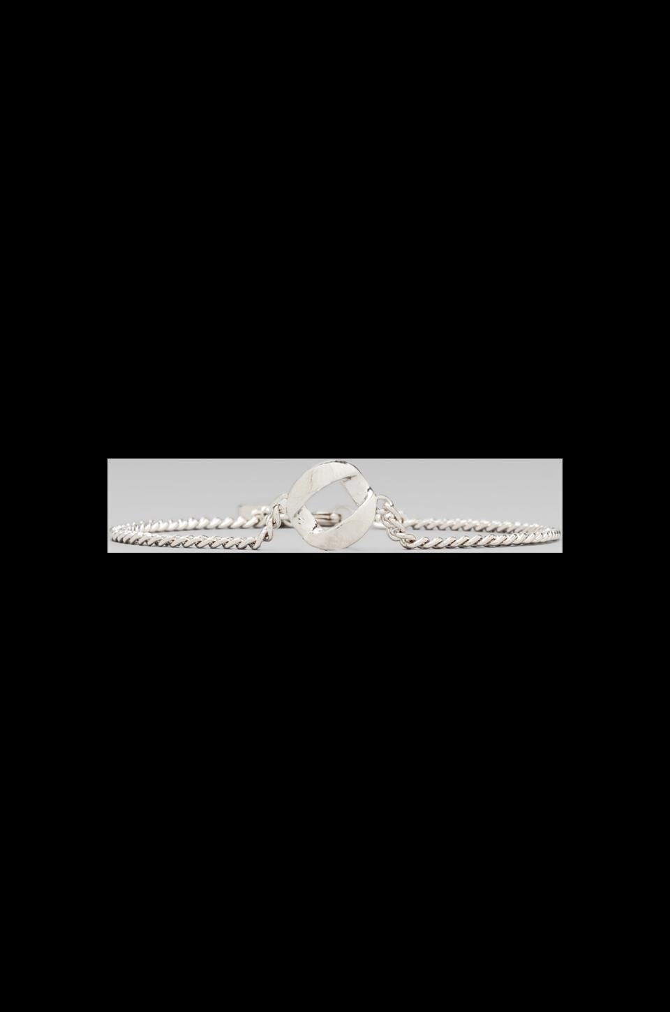 Marc by Marc Jacobs Link to Katie Link Bracelet in Argento