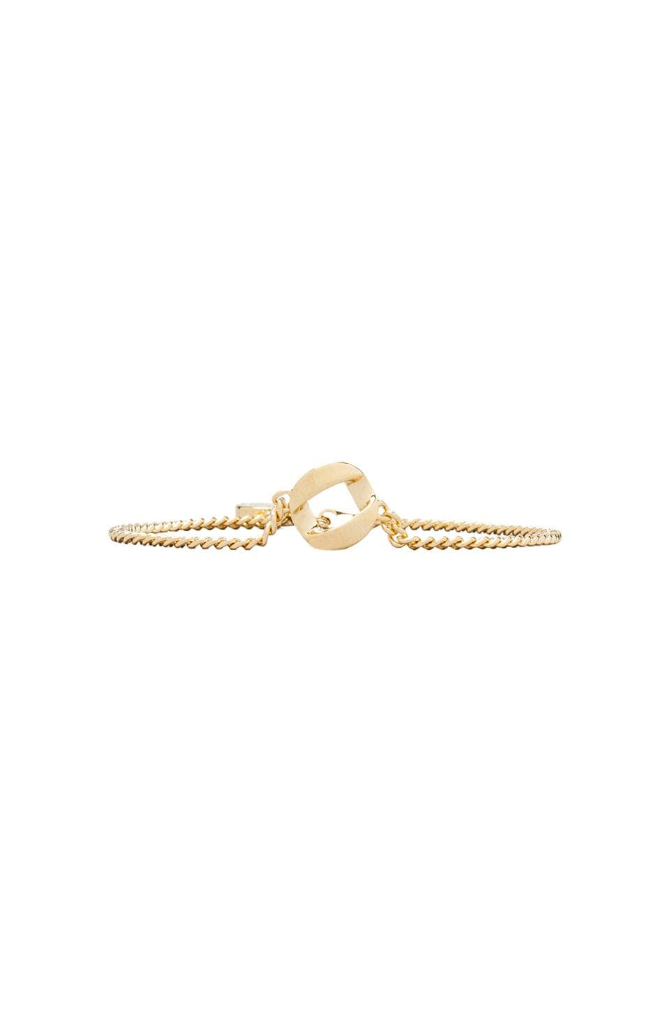 Marc by Marc Jacobs Link to Katie Link Bracelet in Oro