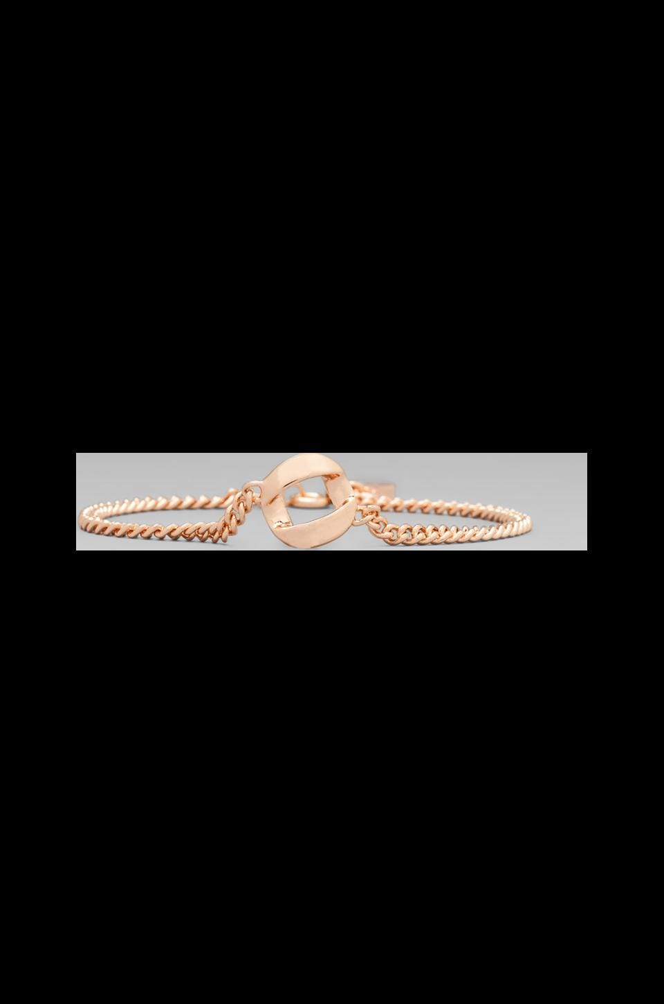 Marc by Marc Jacobs Link to Katie Link Bracelet in Rose Gold