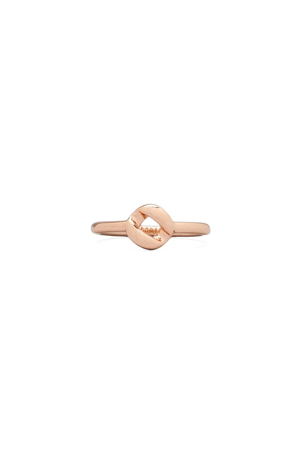 Marc by Marc Jacobs Link to Katie Tiny Ring in Rose Gold