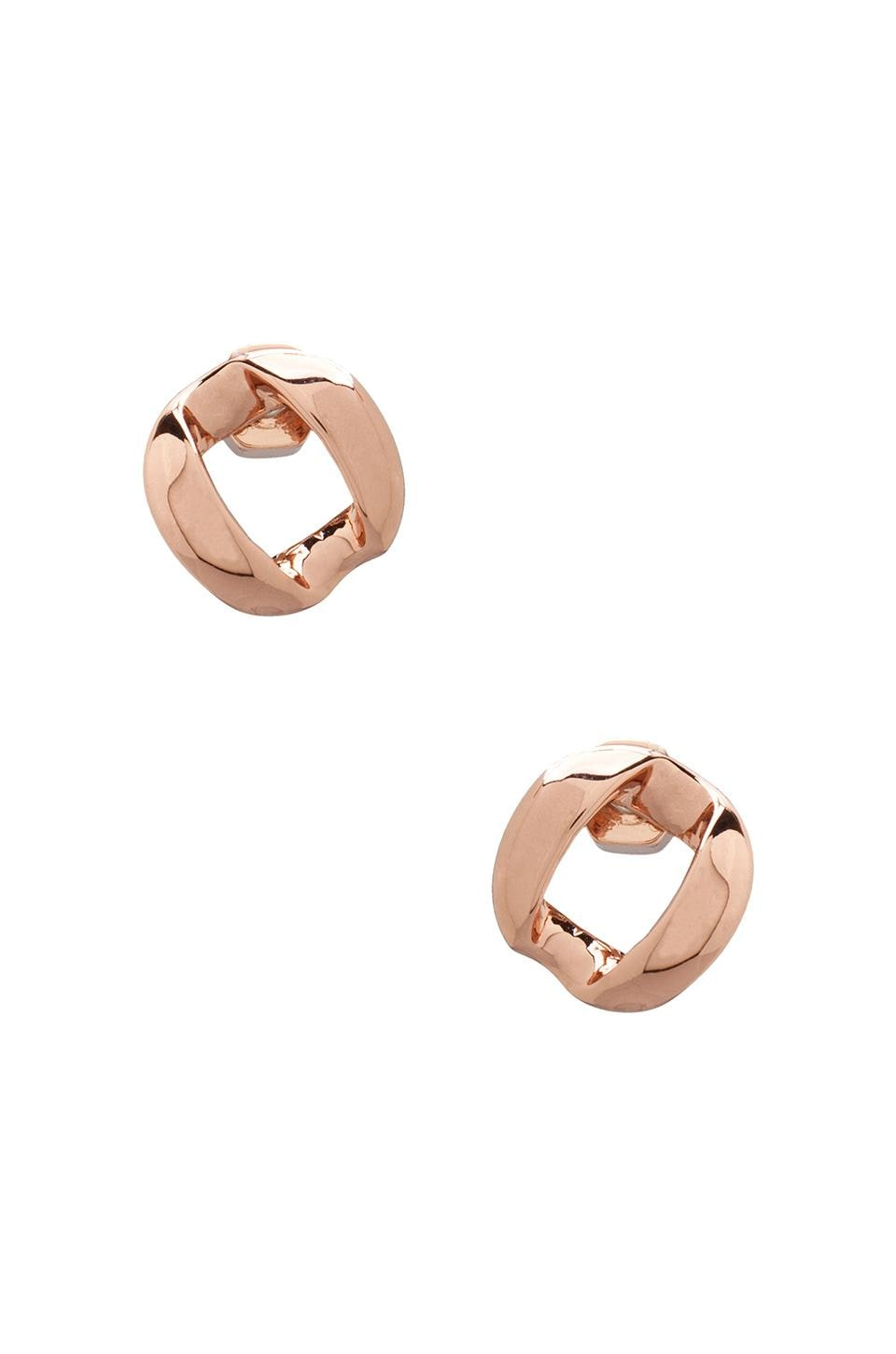 Marc by Marc Jacobs Link to Katie Studs in Rose Gold