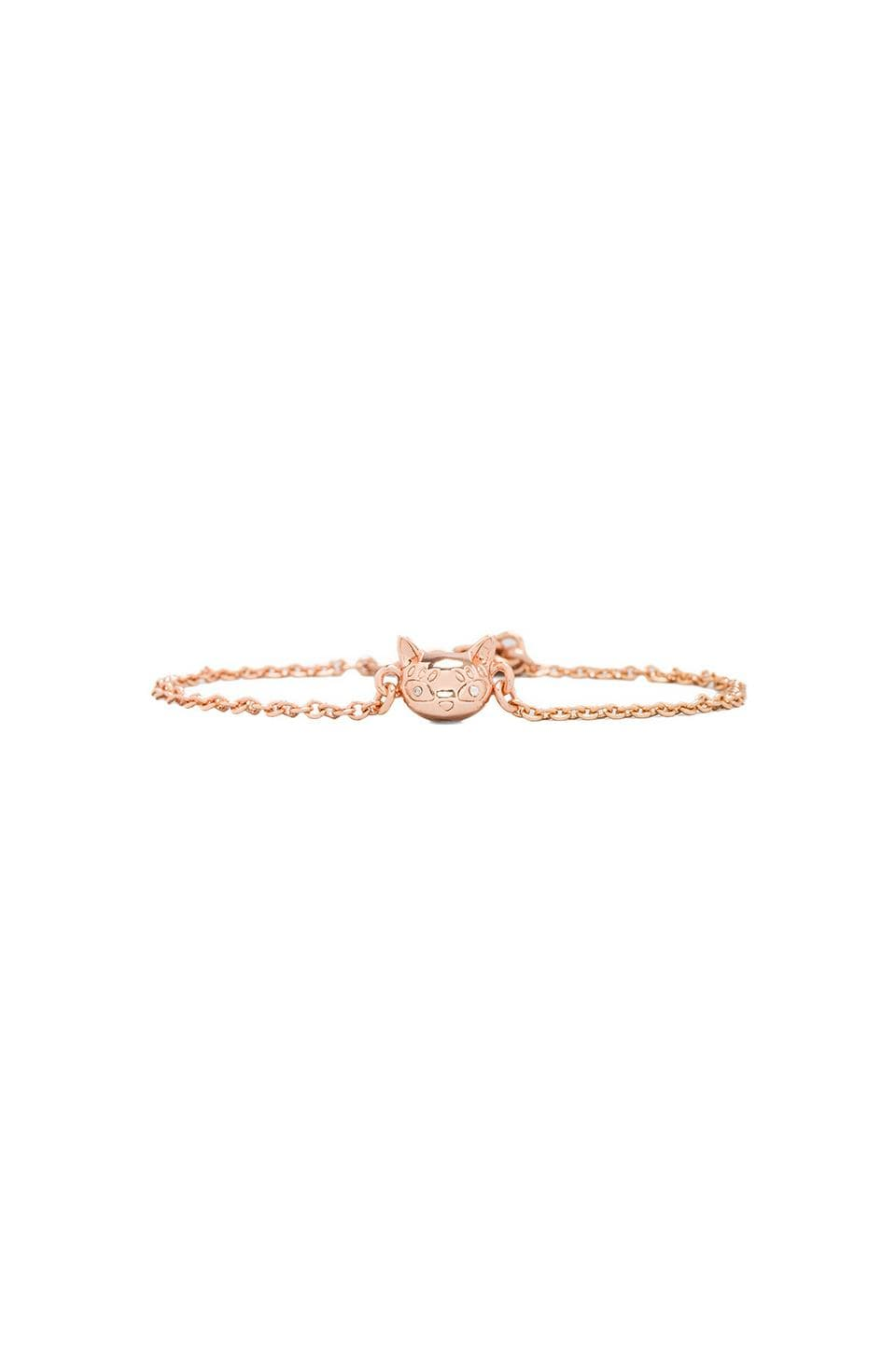 Marc by Marc Jacobs Rue Tiny Bracelet in Rose Gold