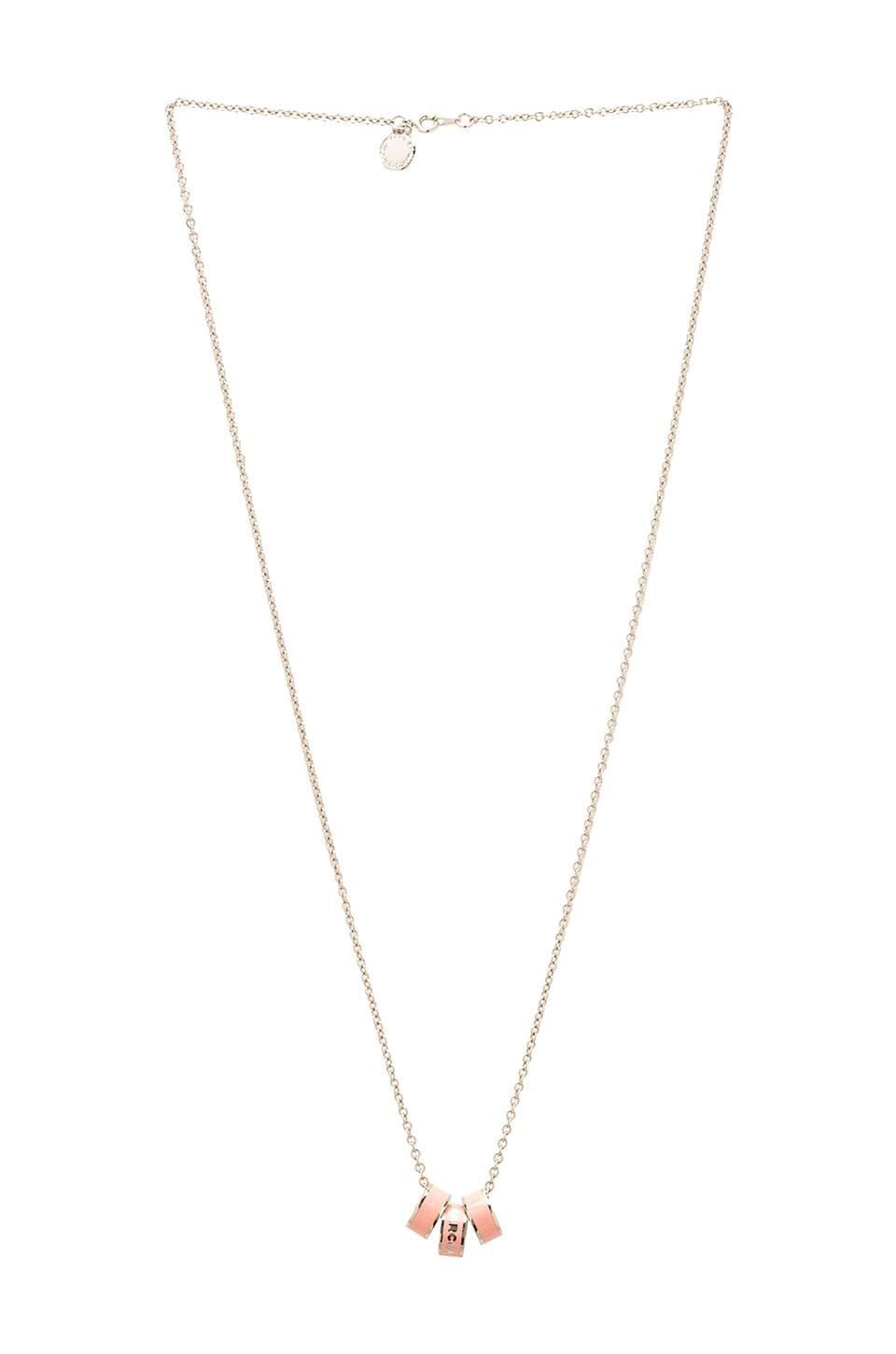 Marc by Marc Jacobs Sweetie Rings Necklace in Rouge (Argento)