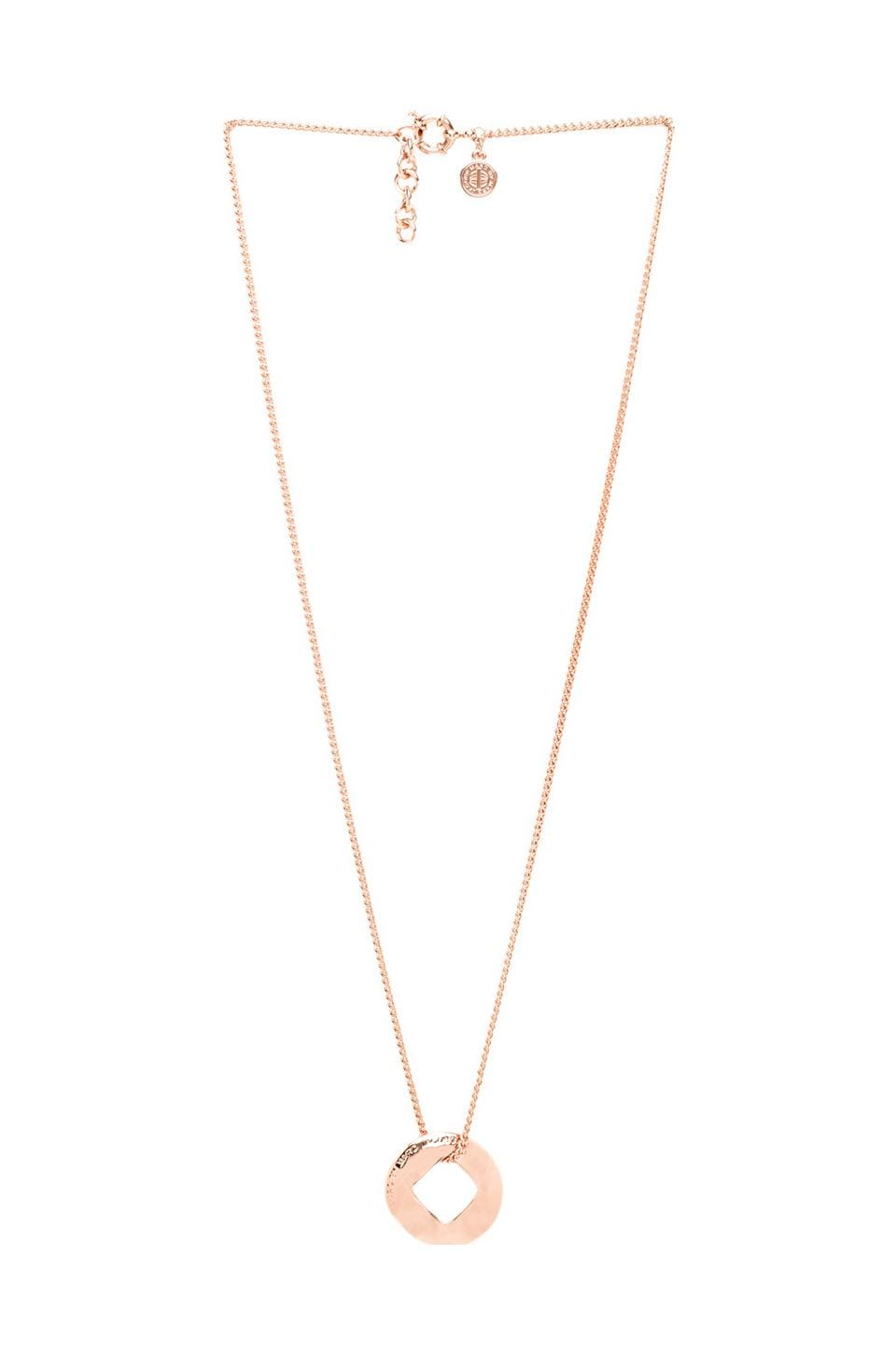 Marc by Marc Jacobs Link Pendant in Rose Gold
