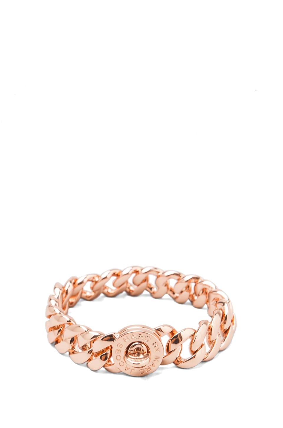 Marc by Marc Jacobs Small Katie Turn-lock Bracelet in Rose Gold