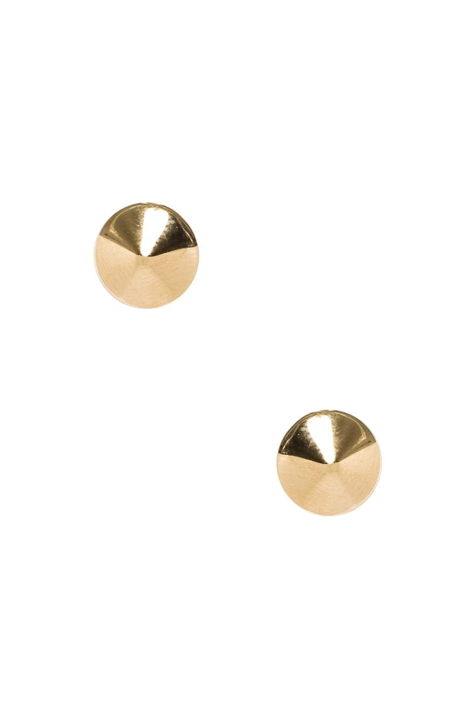 Marc by Marc Jacobs Grab & Go Mini Cone Studs in Oro
