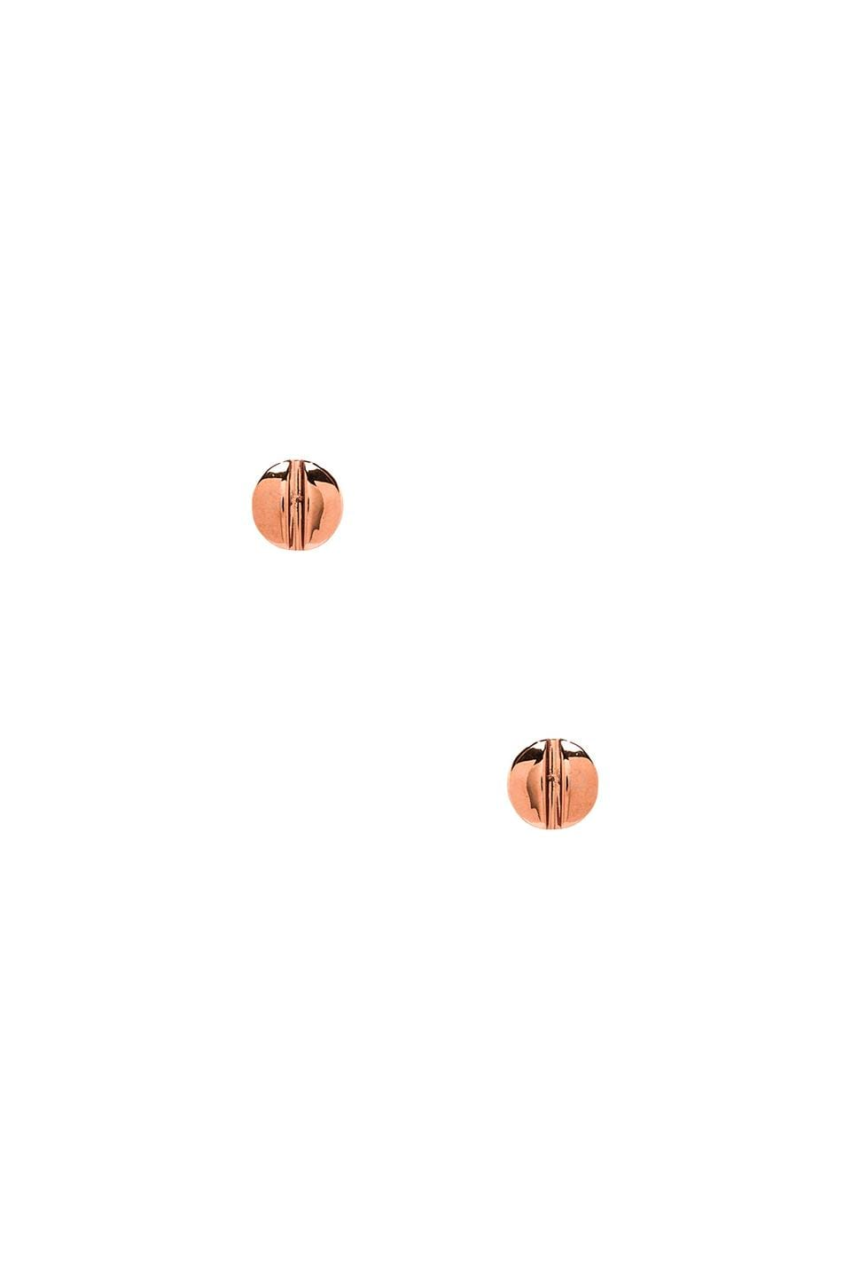 Marc by Marc Jacobs Screw It Screw Studs in Rose Gold