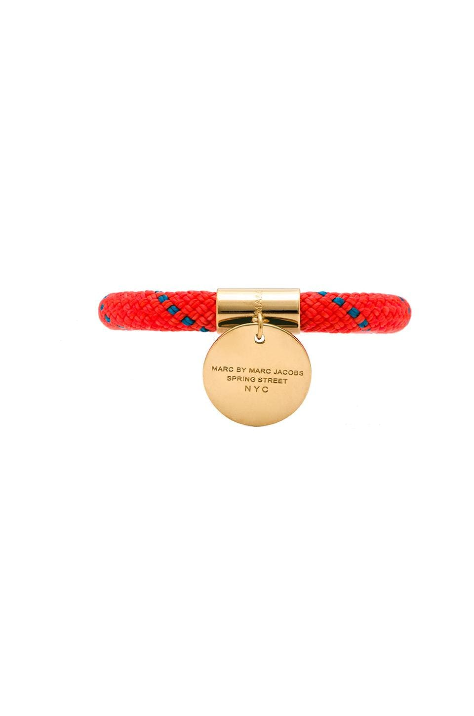 Marc by Marc Jacobs Grab & Go Location Bangle in Orange Multi & Oro