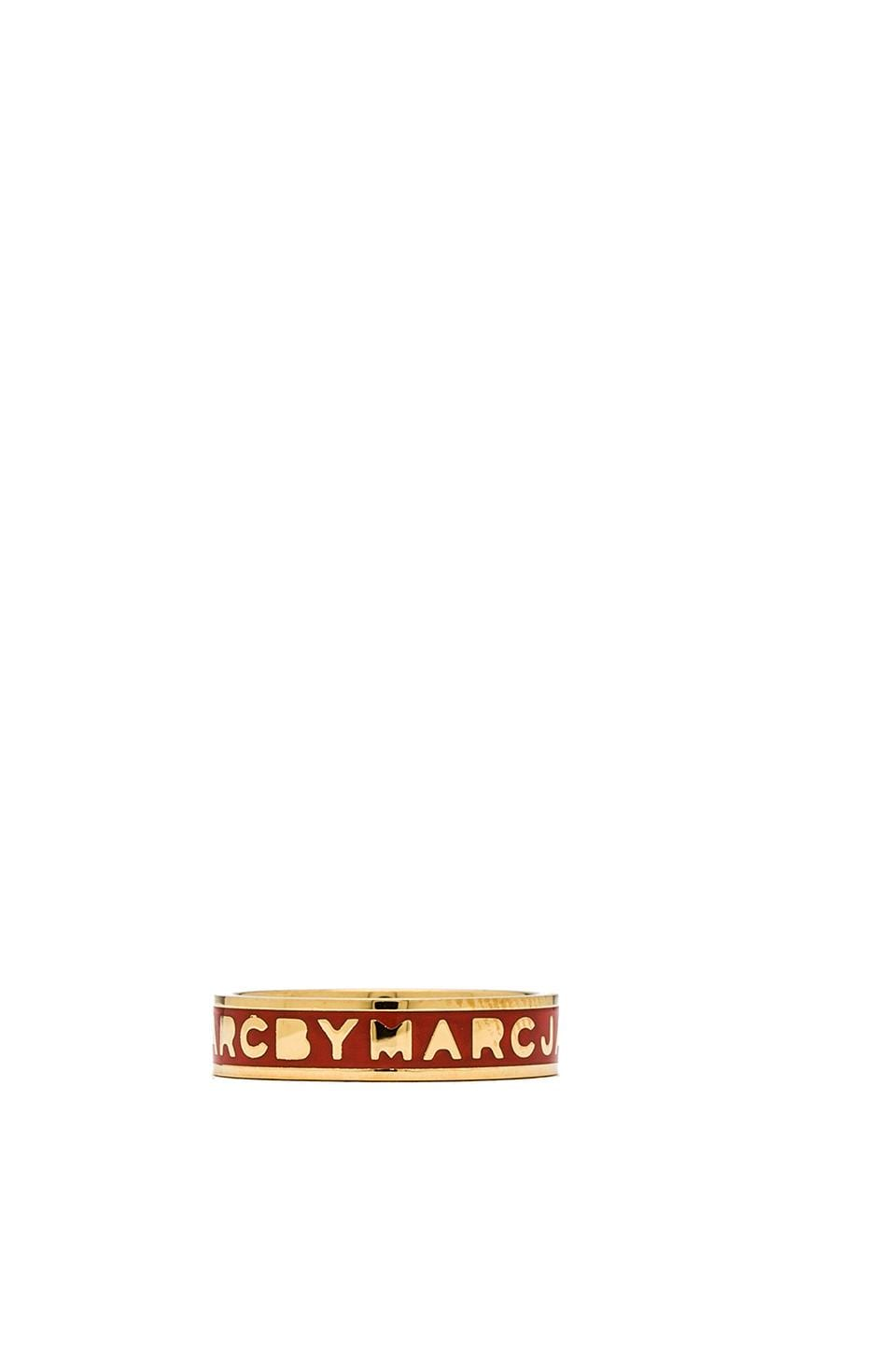 Marc by Marc Jacobs Classic Marc Tiny Ring in Infrared & Oro