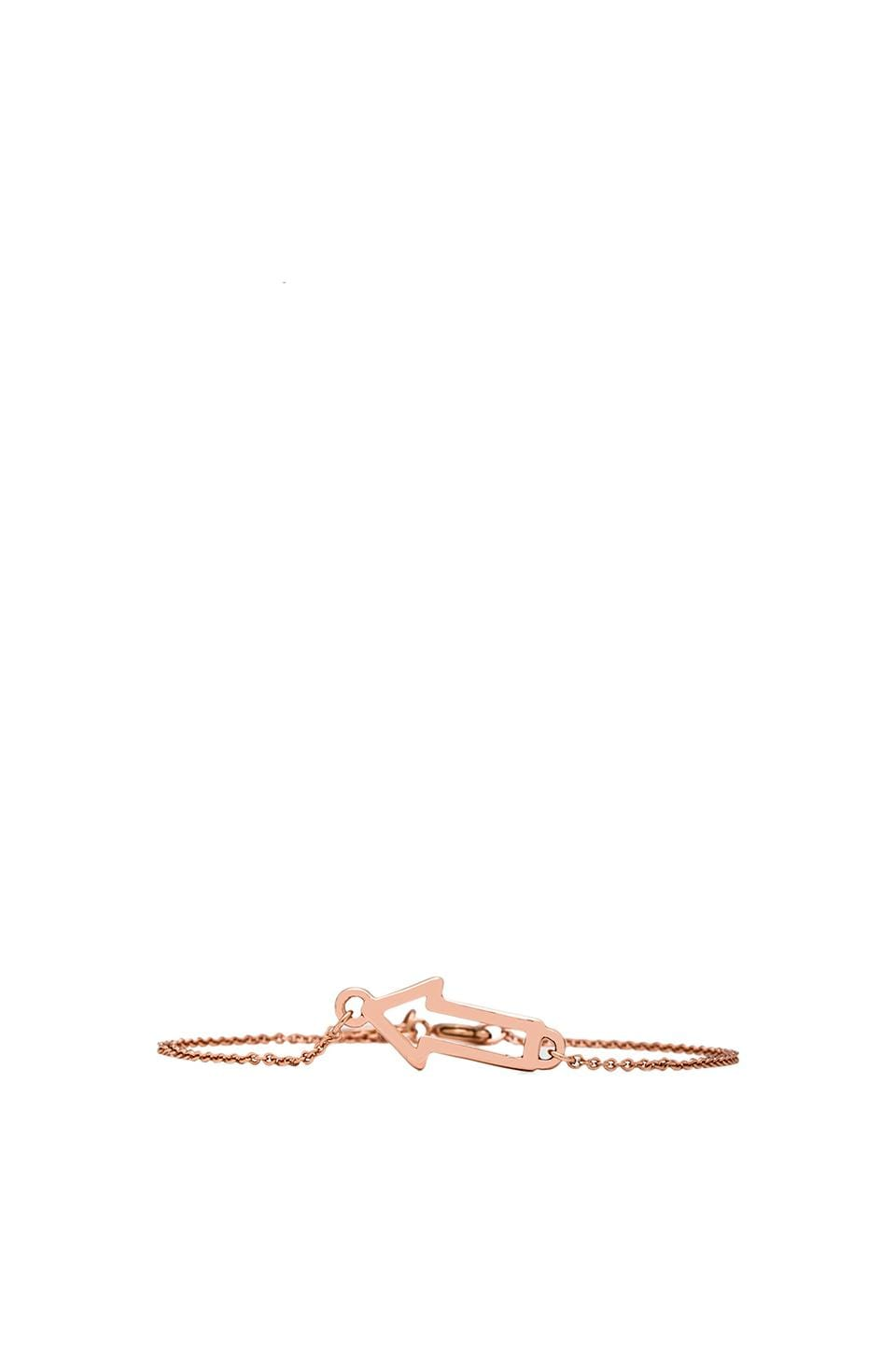 Marc by Marc Jacobs Grab & Go Arrow Bracelet in Rose Gold
