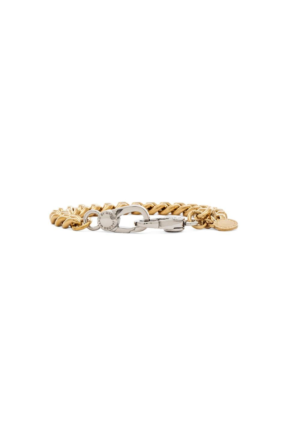 Marc by Marc Jacobs Lost & Found Nothing Basic About It Bracelet in Oro Multi