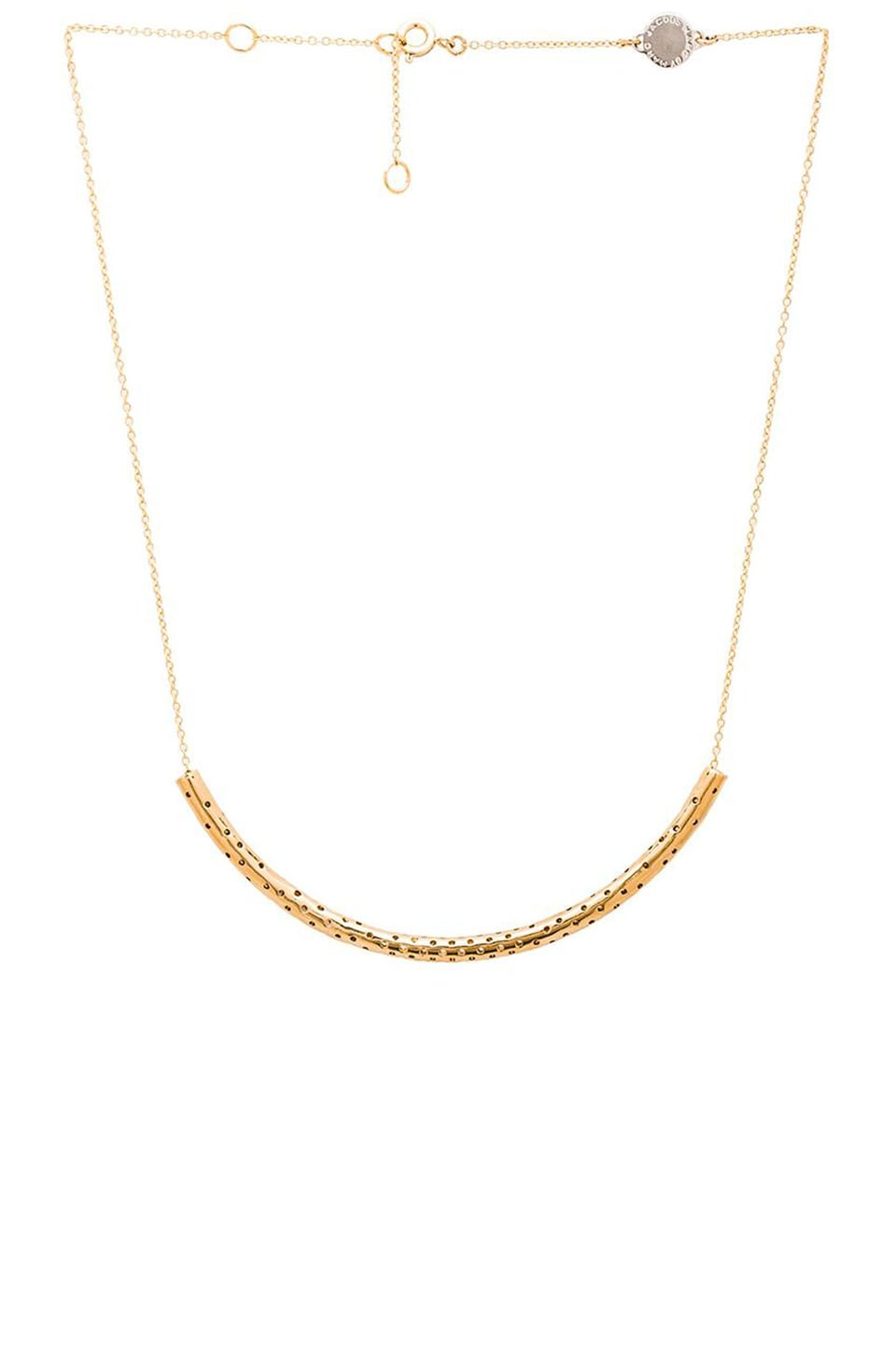 Marc by Marc Jacobs All Tied Up Perf-ection Tube Necklace in Oro