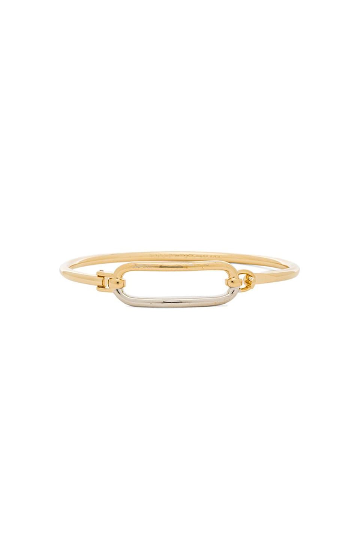 Marc by Marc Jacobs Bubble Hinge Cuff Bracelet in Oro Multi