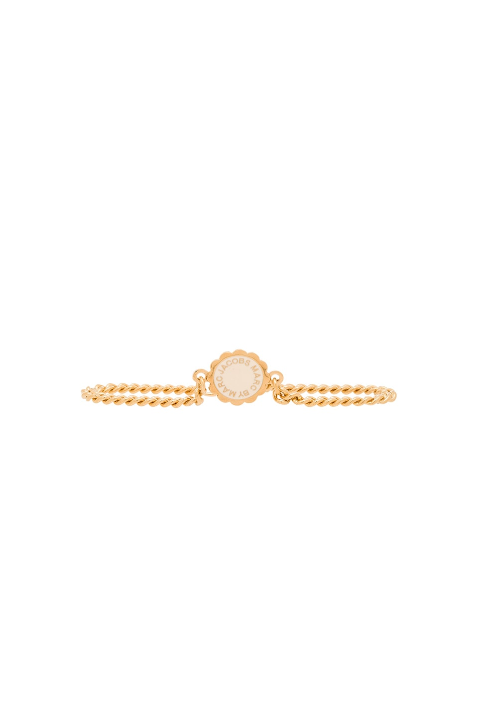 Marc by Marc Jacobs Scalloped Disc-O Bracelet in Cream