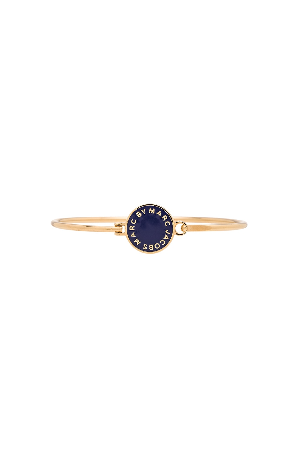 Marc by Marc Jacobs Logo Disc-O Skinny Bracelet in Sapphire