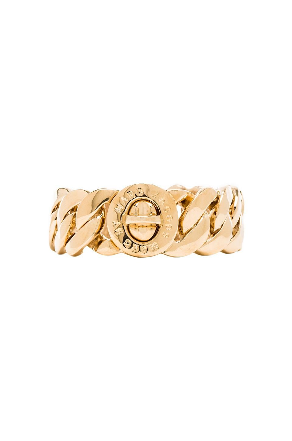 Marc by Marc Jacobs Katie Turn-lock Bracelet in Oro
