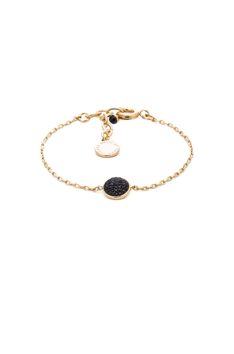 Marc by Marc Jacobs Pave Disc Bracelet in Black