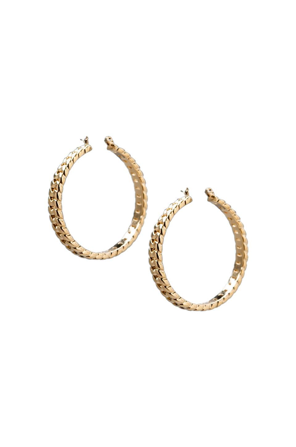 Marc by Marc Jacobs Hoops in Oro