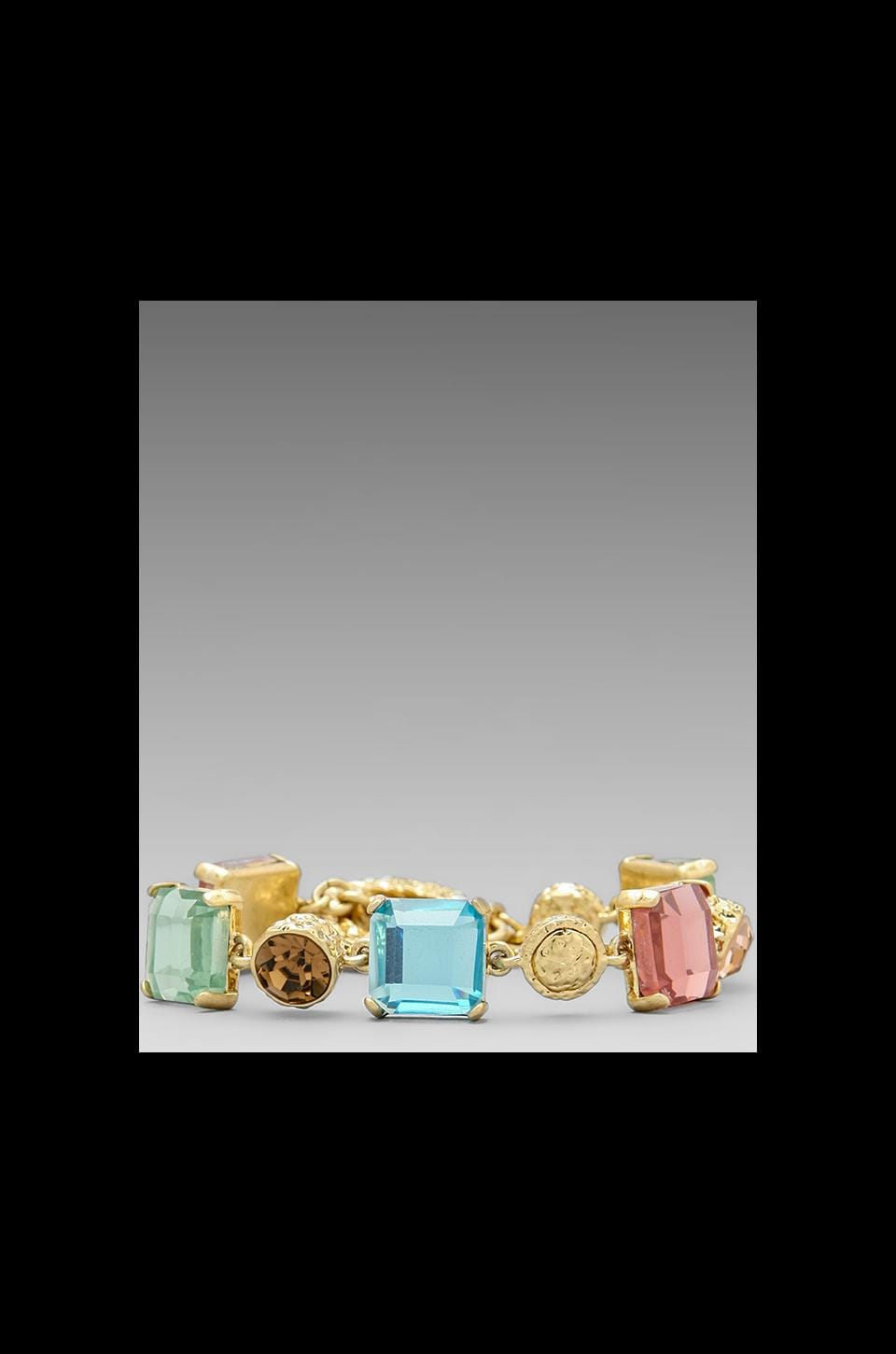Marc by Marc Jacobs Tiny Toggle Bracelet in Chrystolite