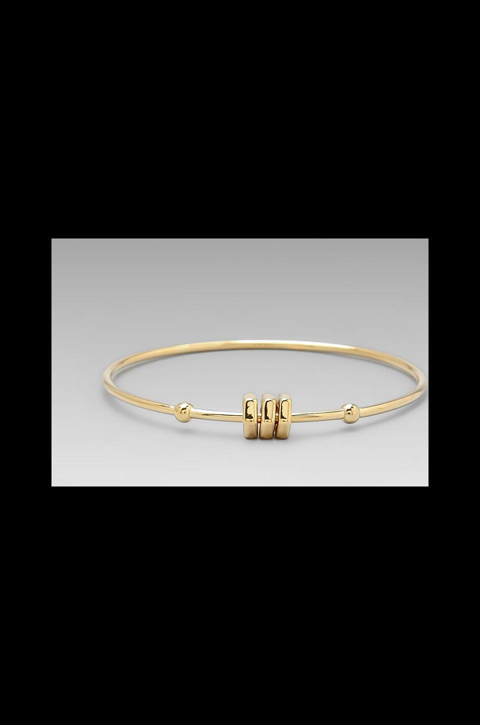 Marc by Marc Jacobs Bolt Tiny Bangle in Oro
