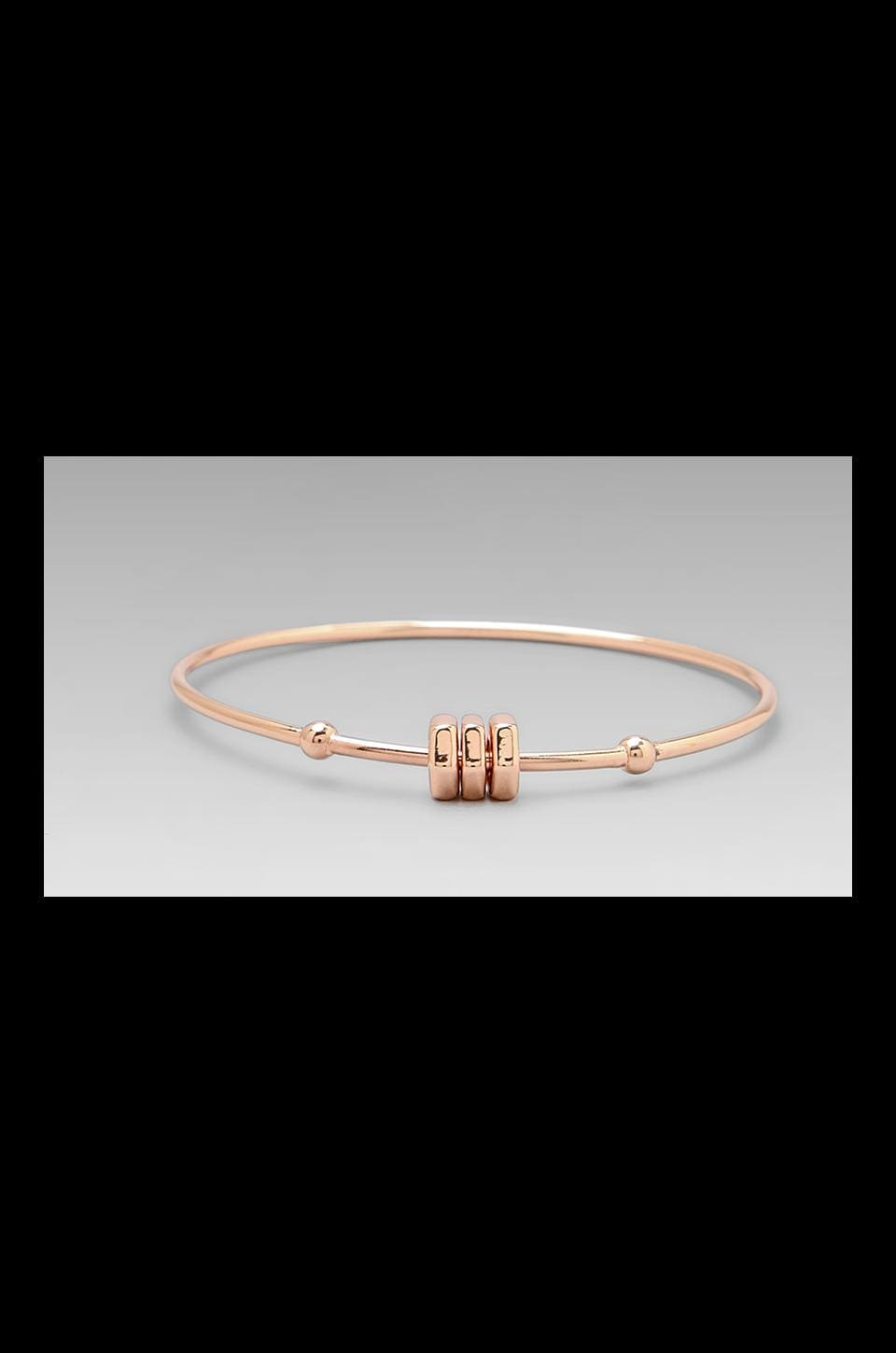 Marc by Marc Jacobs Bolt Tiny Bangle in Rose Gold