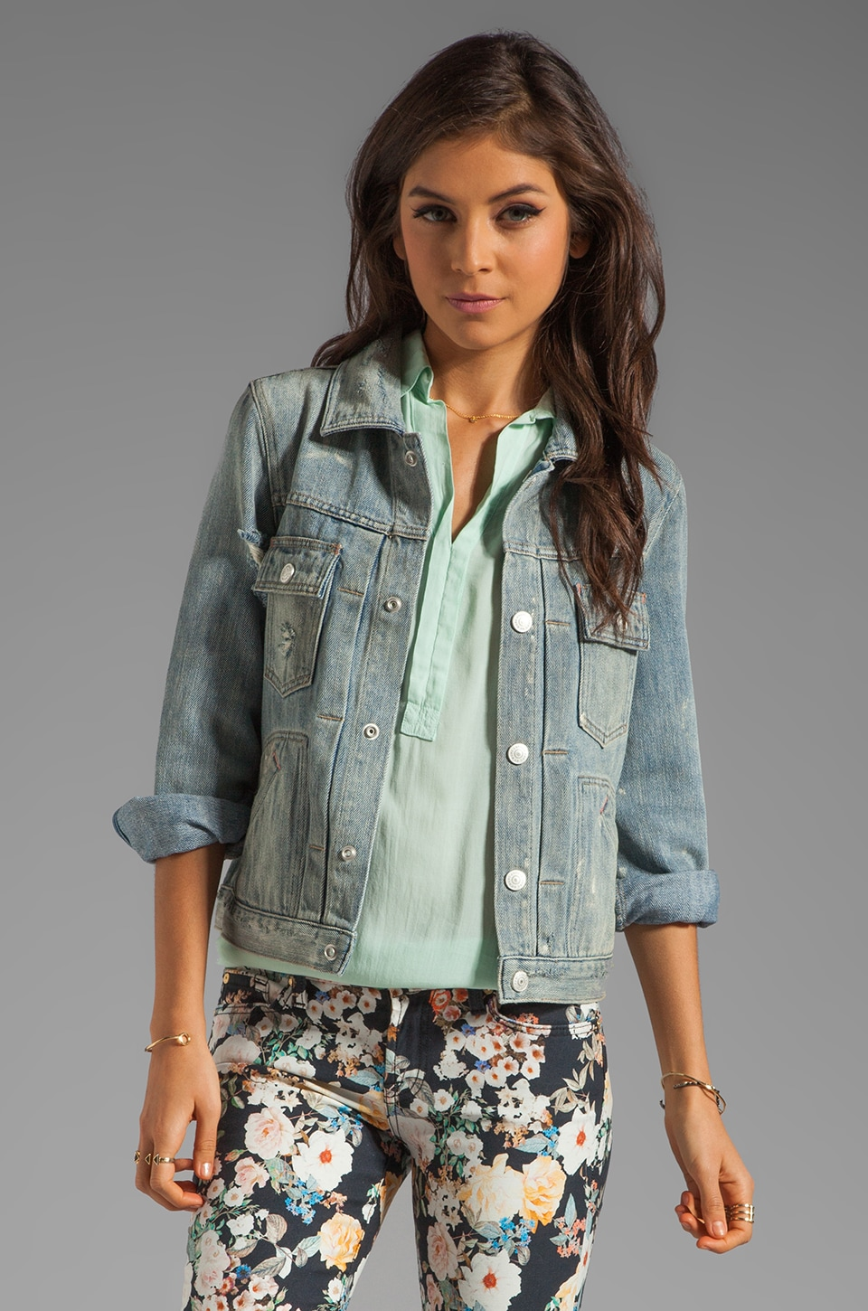 Marc by Marc Jacobs Standard Supply Denim Lily Jacket in Lily