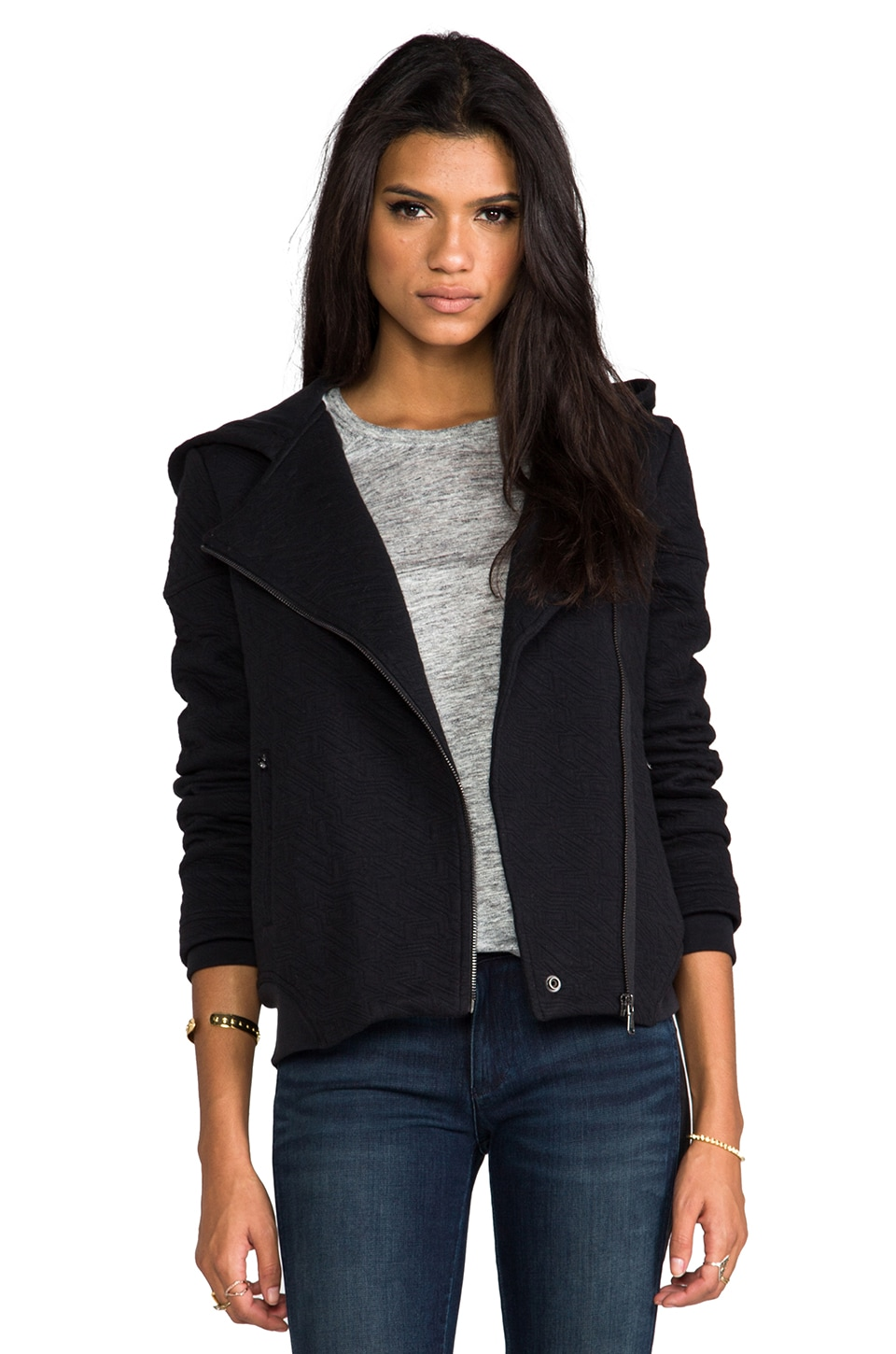Marc by Marc Jacobs Cleo Quilted Jacket in Black