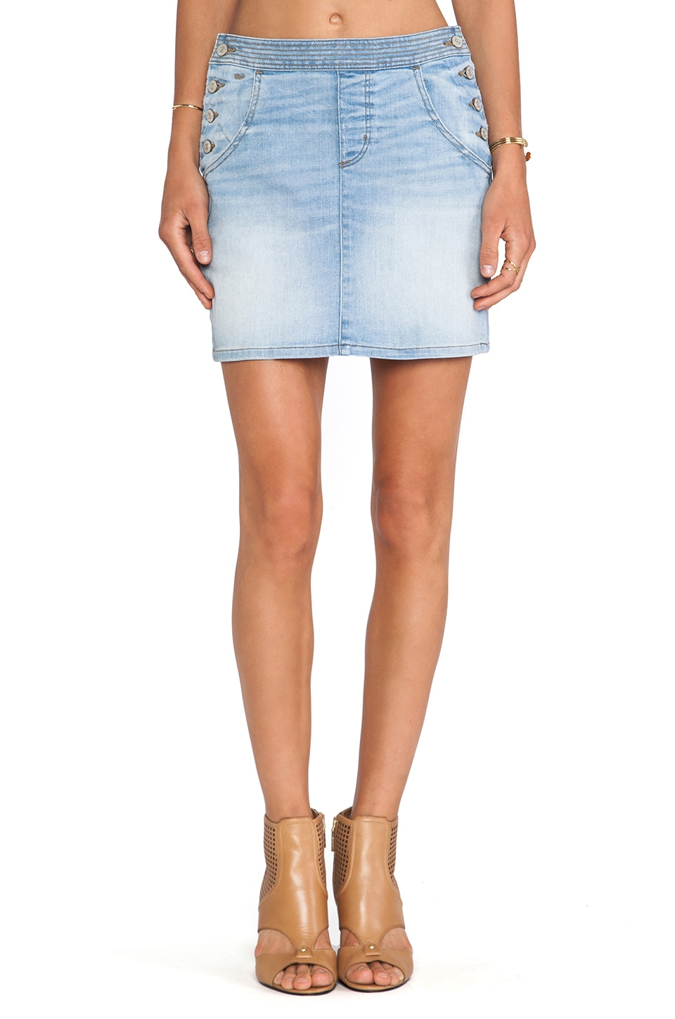 Marc by Marc Jacobs A Line Skirt in Jahoo