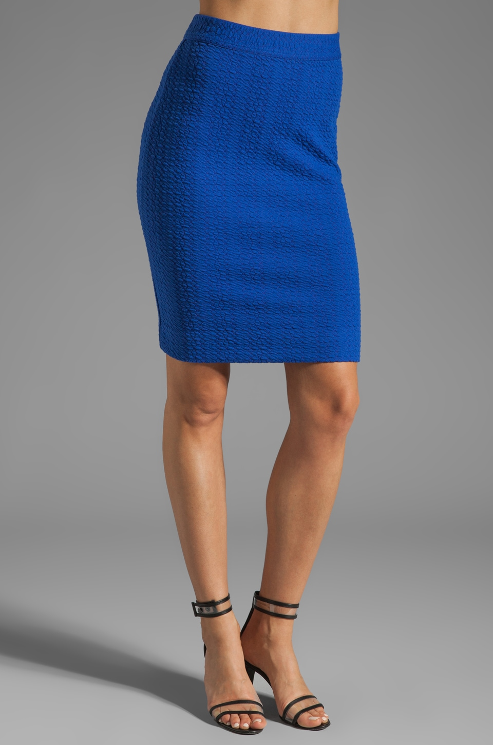 Marc by Marc Jacobs Gertie Knit Skirt en Pure Blue