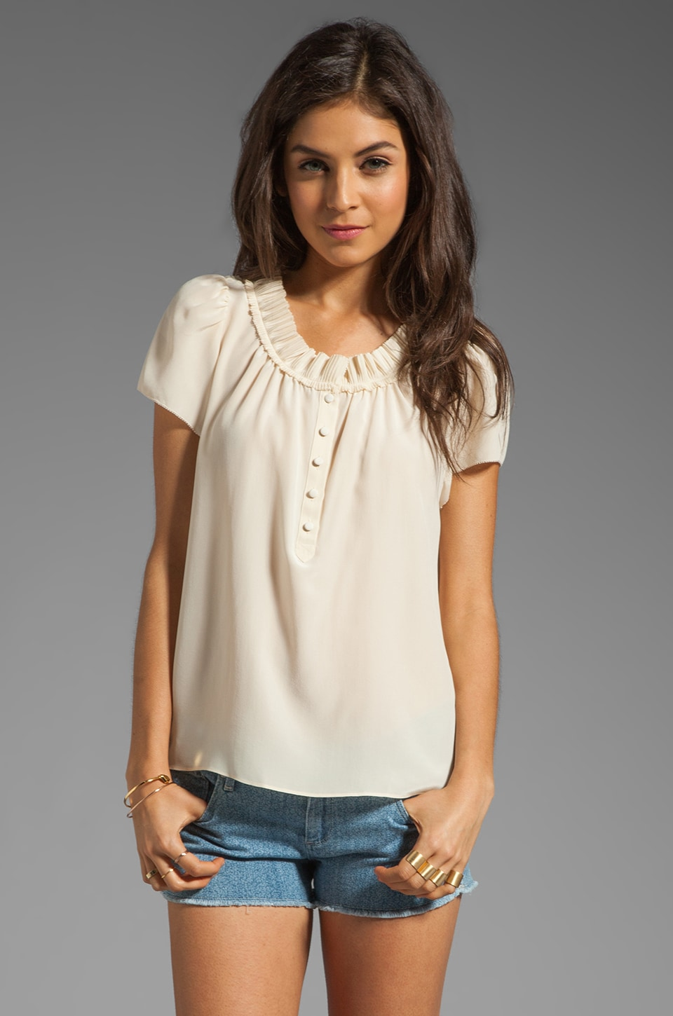 Marc by Marc Jacobs Bowery CDC Top in Tapioca