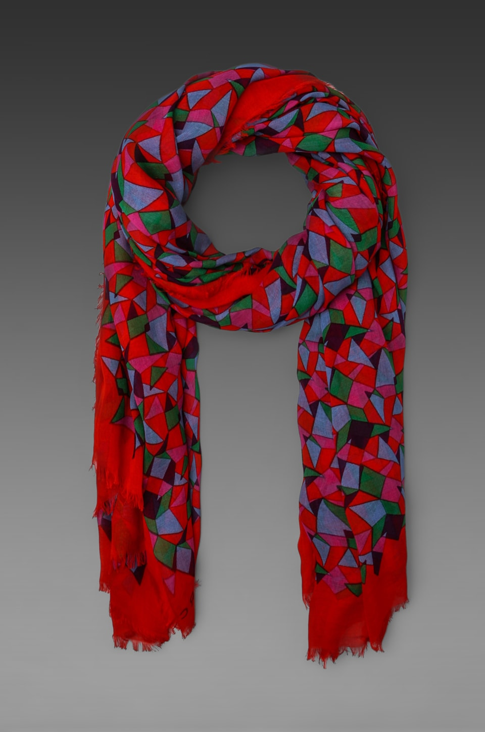 Marc by Marc Jacobs Taboo Print Scarf in Envy Green Multi