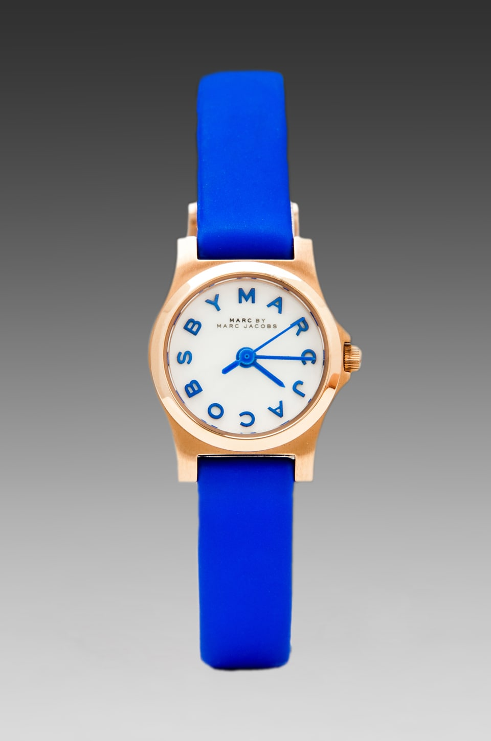 Marc by Marc Jacobs Henry Dinky Watch in Malibu Blue/Rosegold