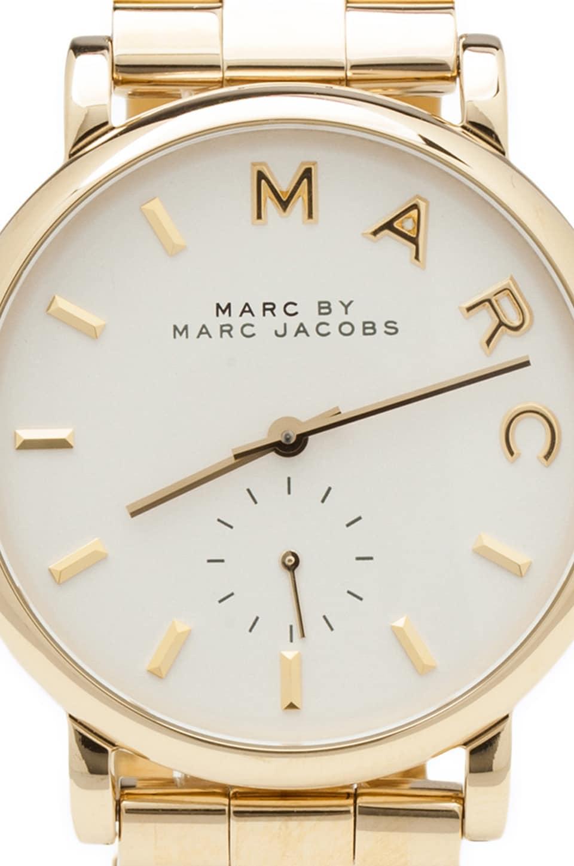 marc by marc jacobs mbm3243 in gold revolve. Black Bedroom Furniture Sets. Home Design Ideas