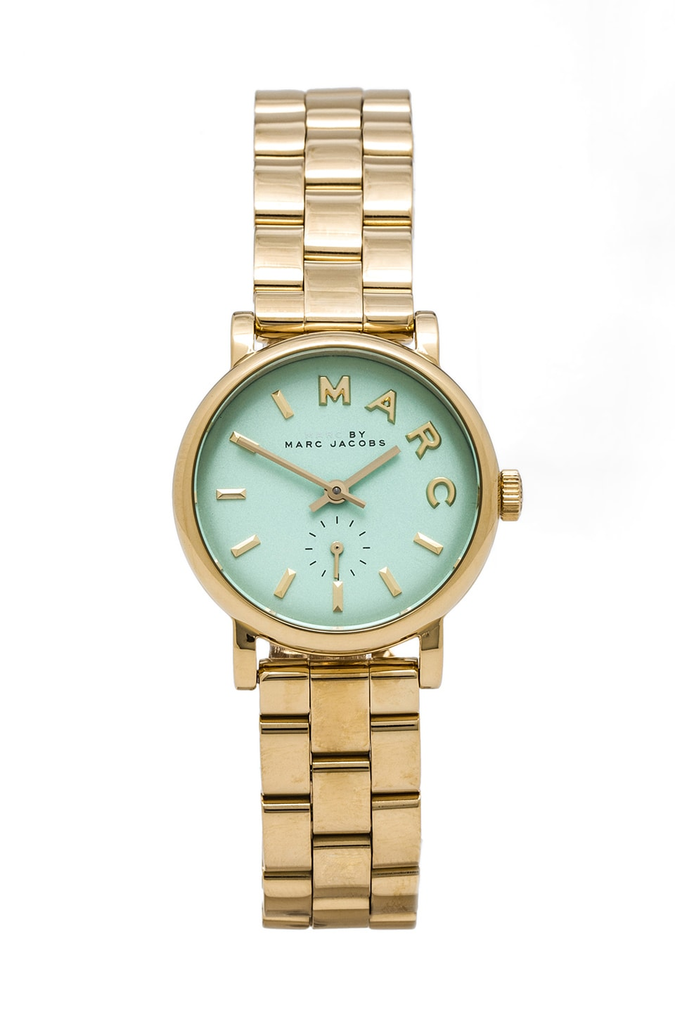 Marc by Marc Jacobs Baker Watch in Rose Gold & River