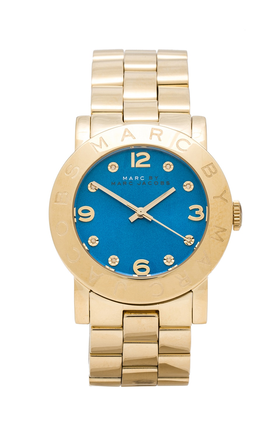 Marc by Marc Jacobs Amy Watch in Gold