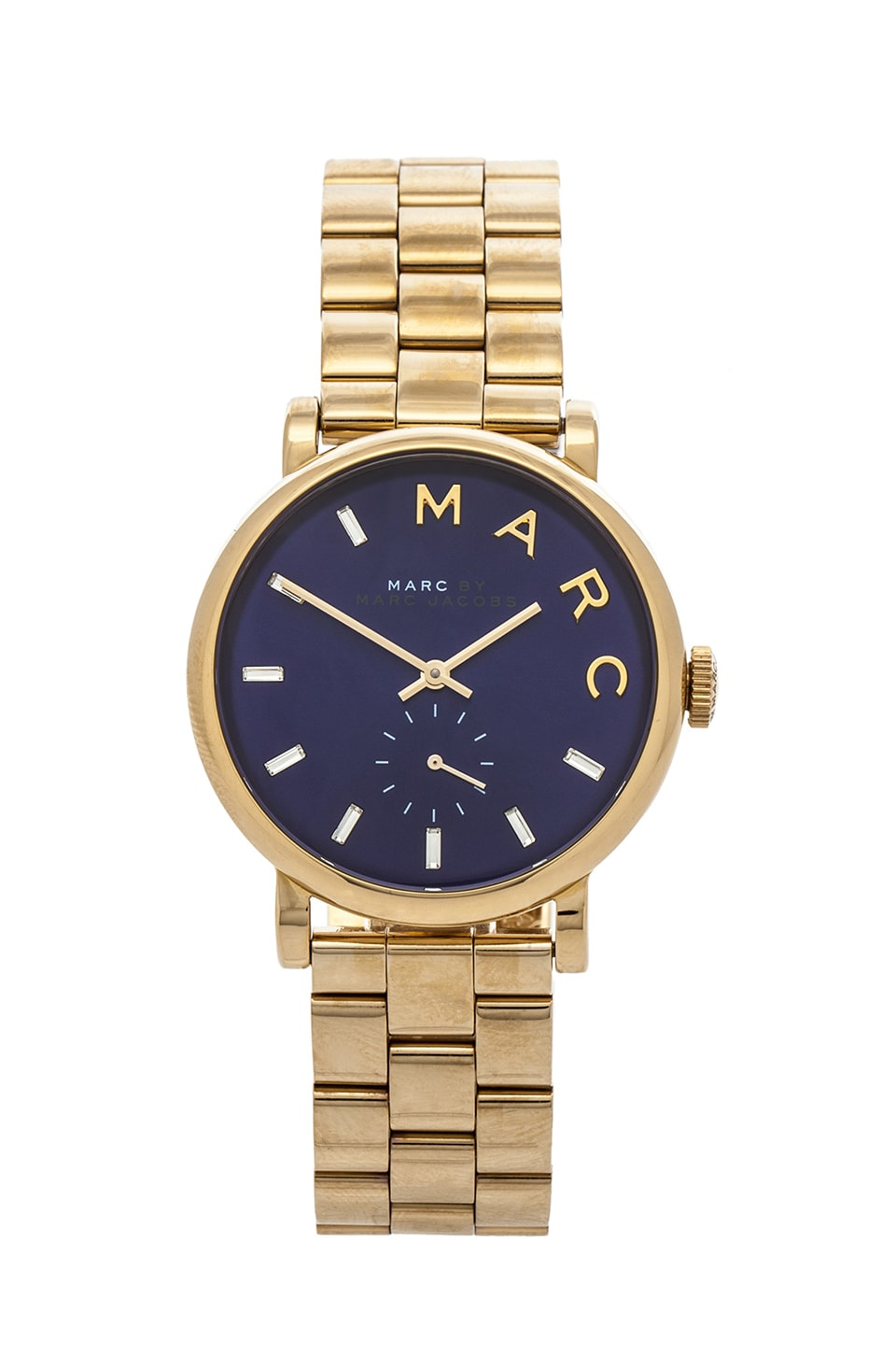 Marc by Marc Jacobs Baker in Gold & Mineral Blue