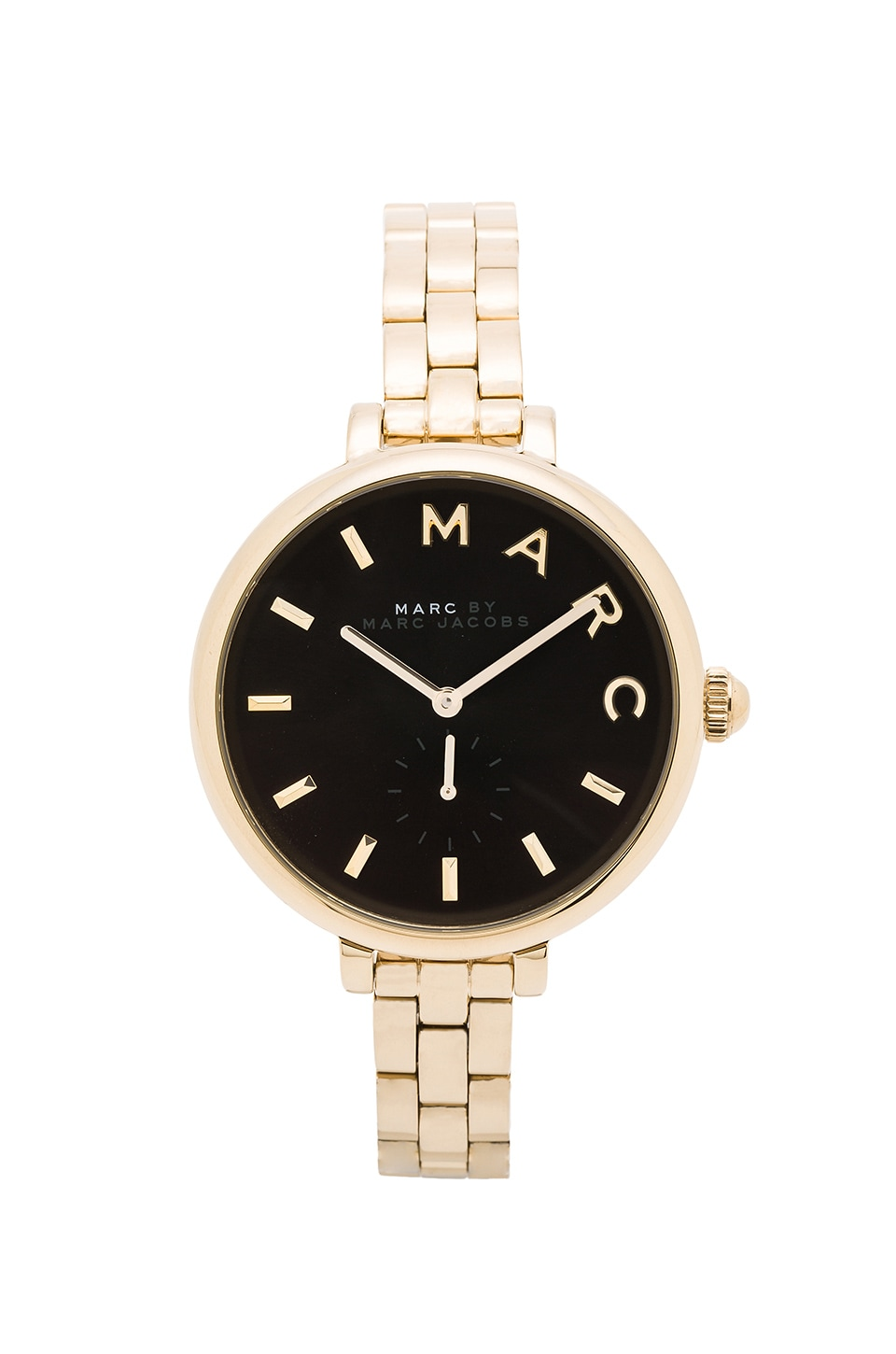 Marc by Marc Jacobs Sally Watch in Black & Gold