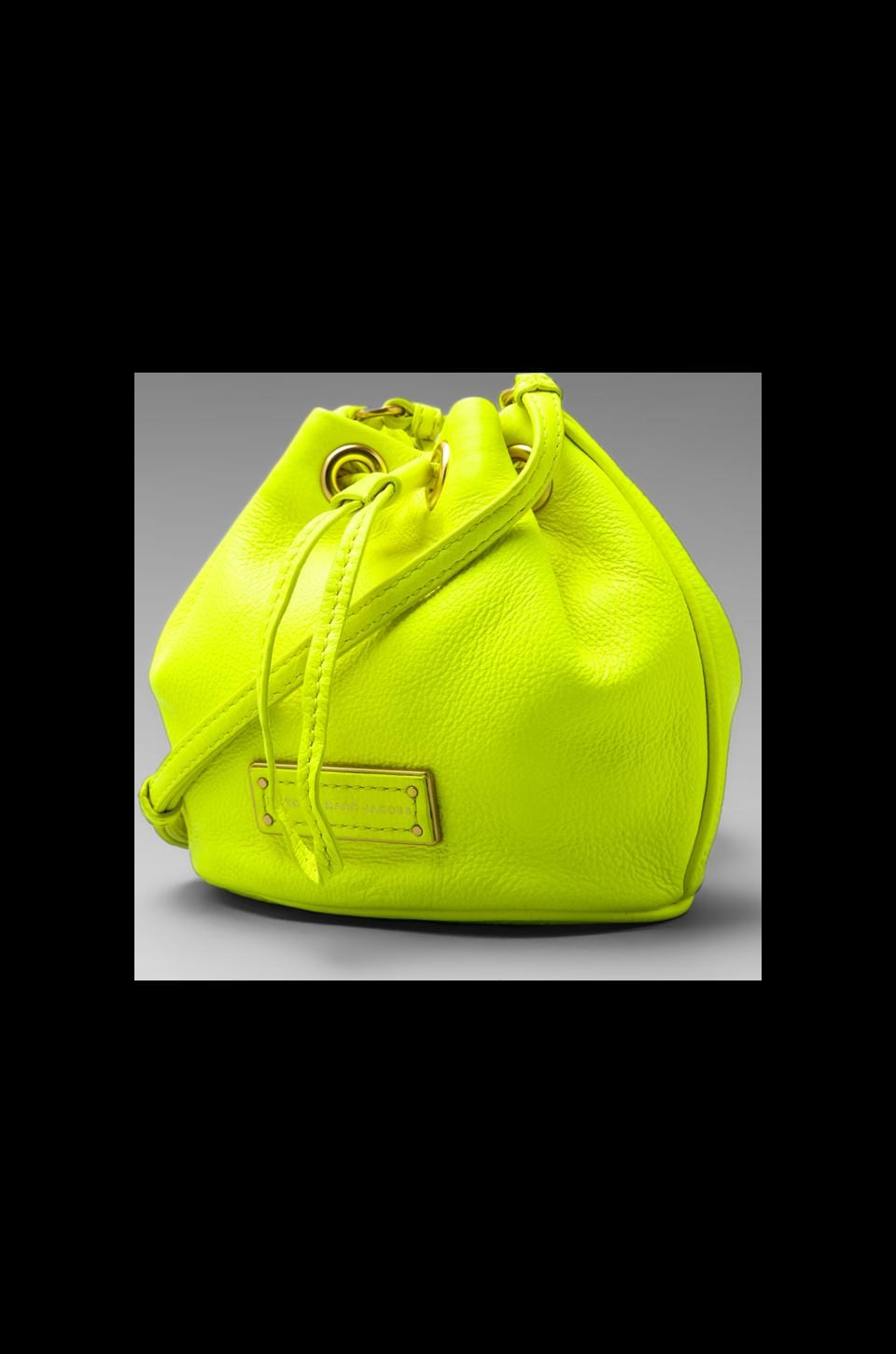 Marc by Marc Jacobs Too Hot to Handle Mini Drawstring in Safety Yellow