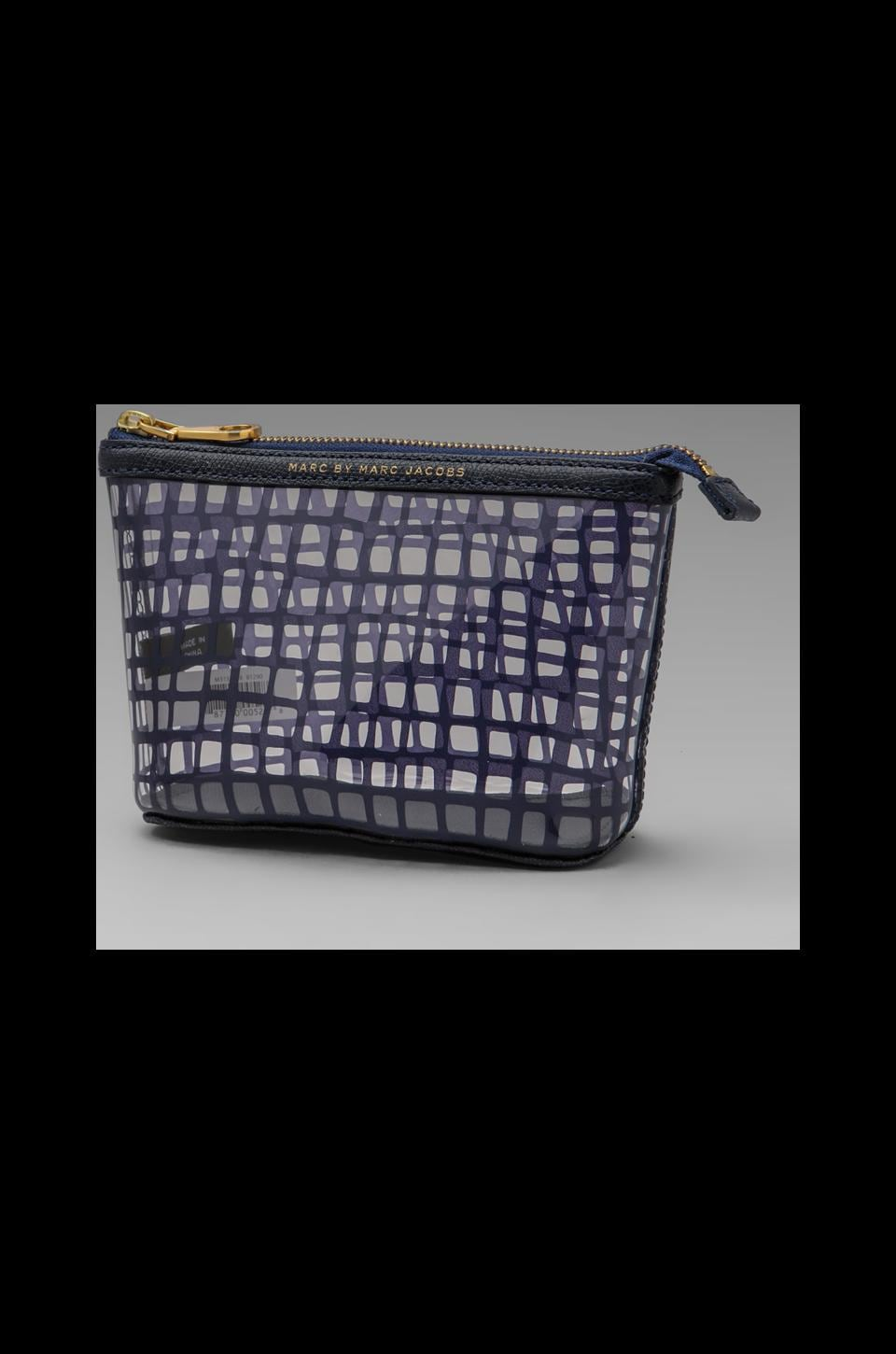 Marc by Marc Jacobs Checkmate Landscape Pouch in Carpathian Blue