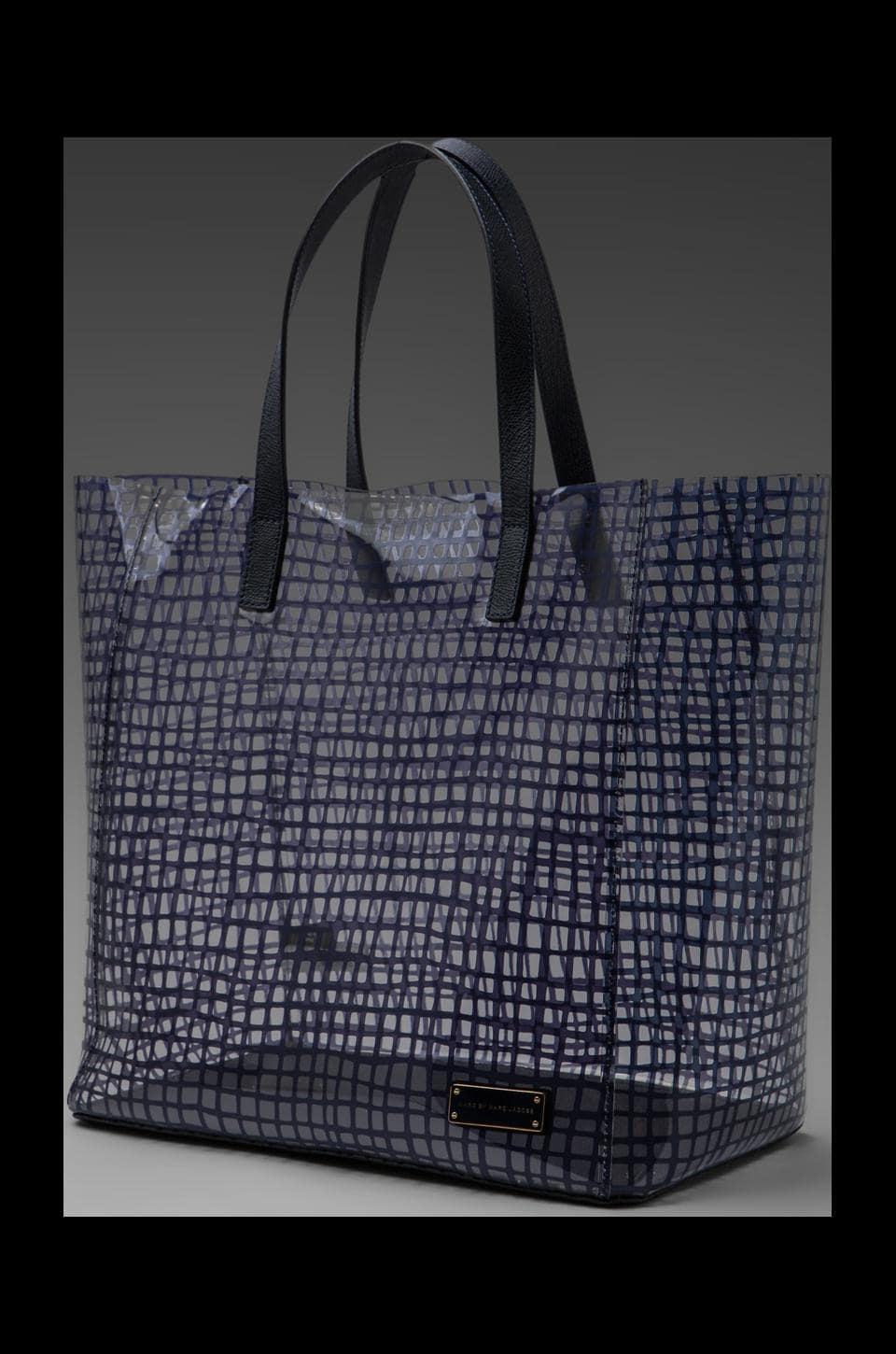 Marc by Marc Jacobs Checkmate Tote in Carpathian Blue