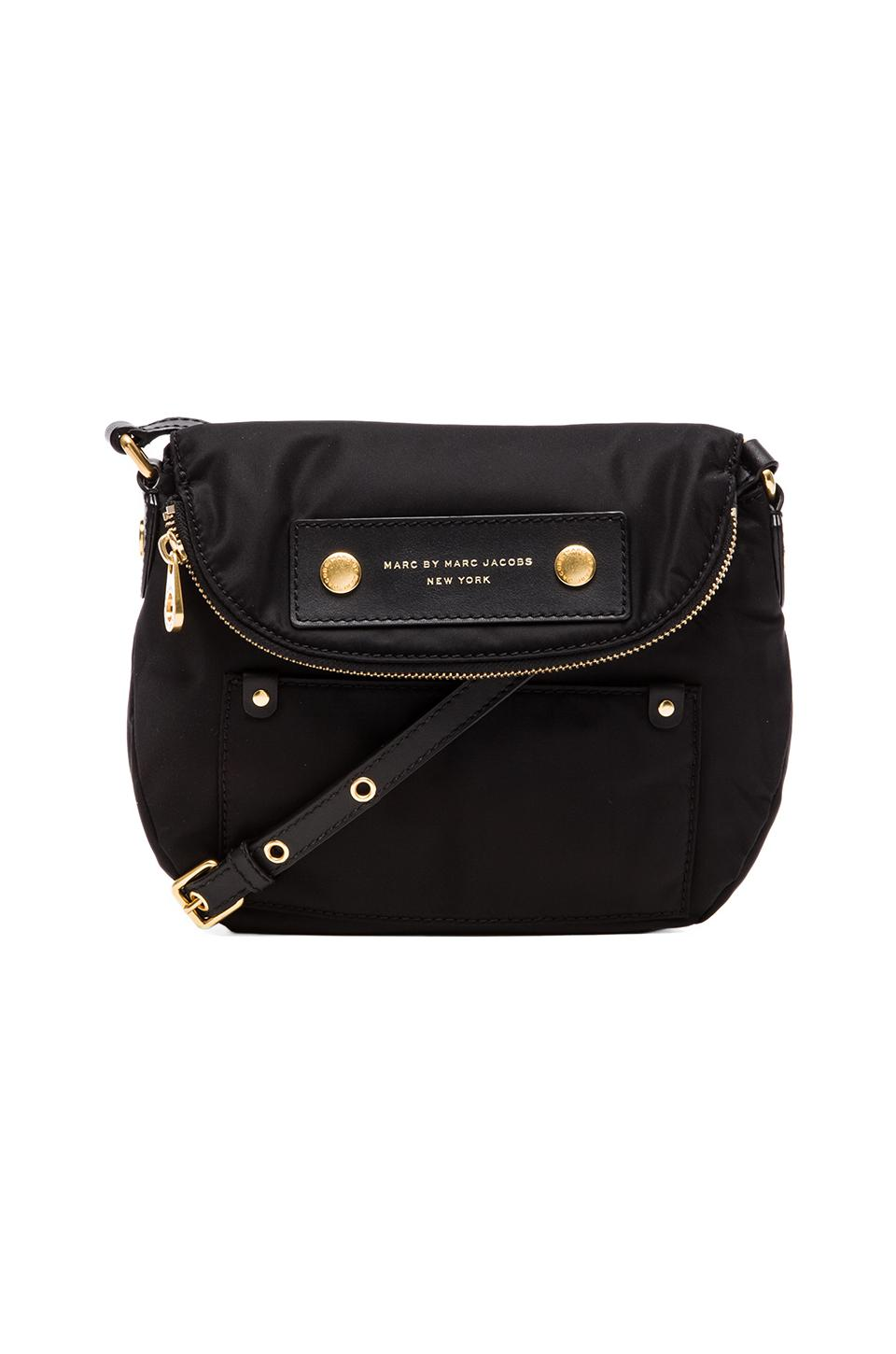 Marc by Marc Jacobs Preppy Nylon Mini Natasha in Black