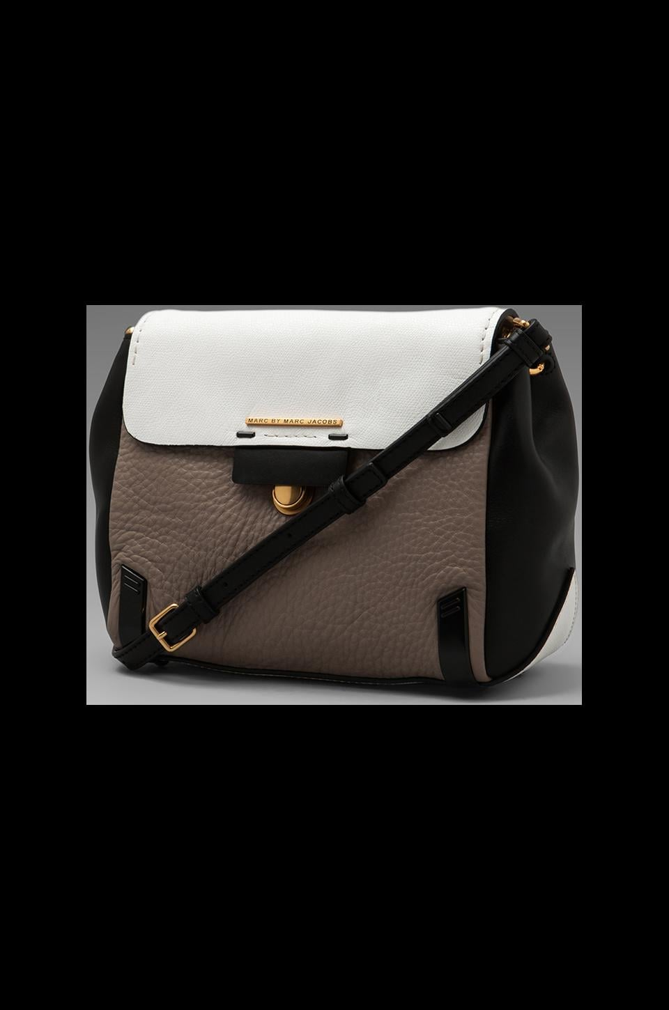 Marc by Marc Jacobs Sheltered Island Colorblocked Crossbody in Star White Multi