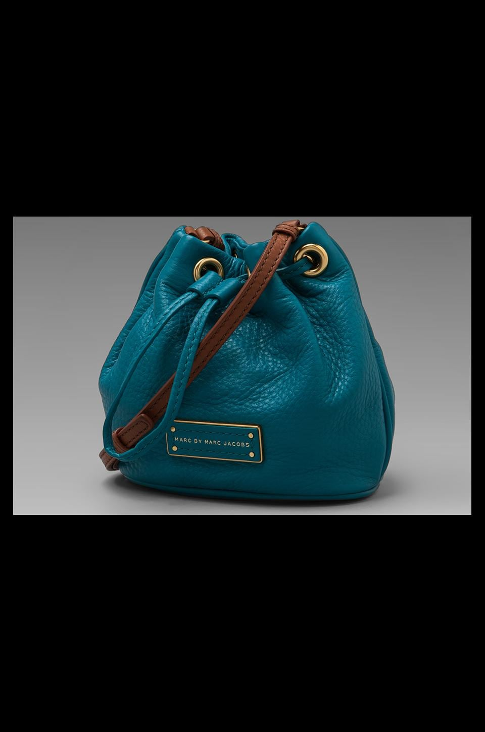 Marc by Marc Jacobs Too Hot to Handle Mini Drawstring in Deep Teal Multi