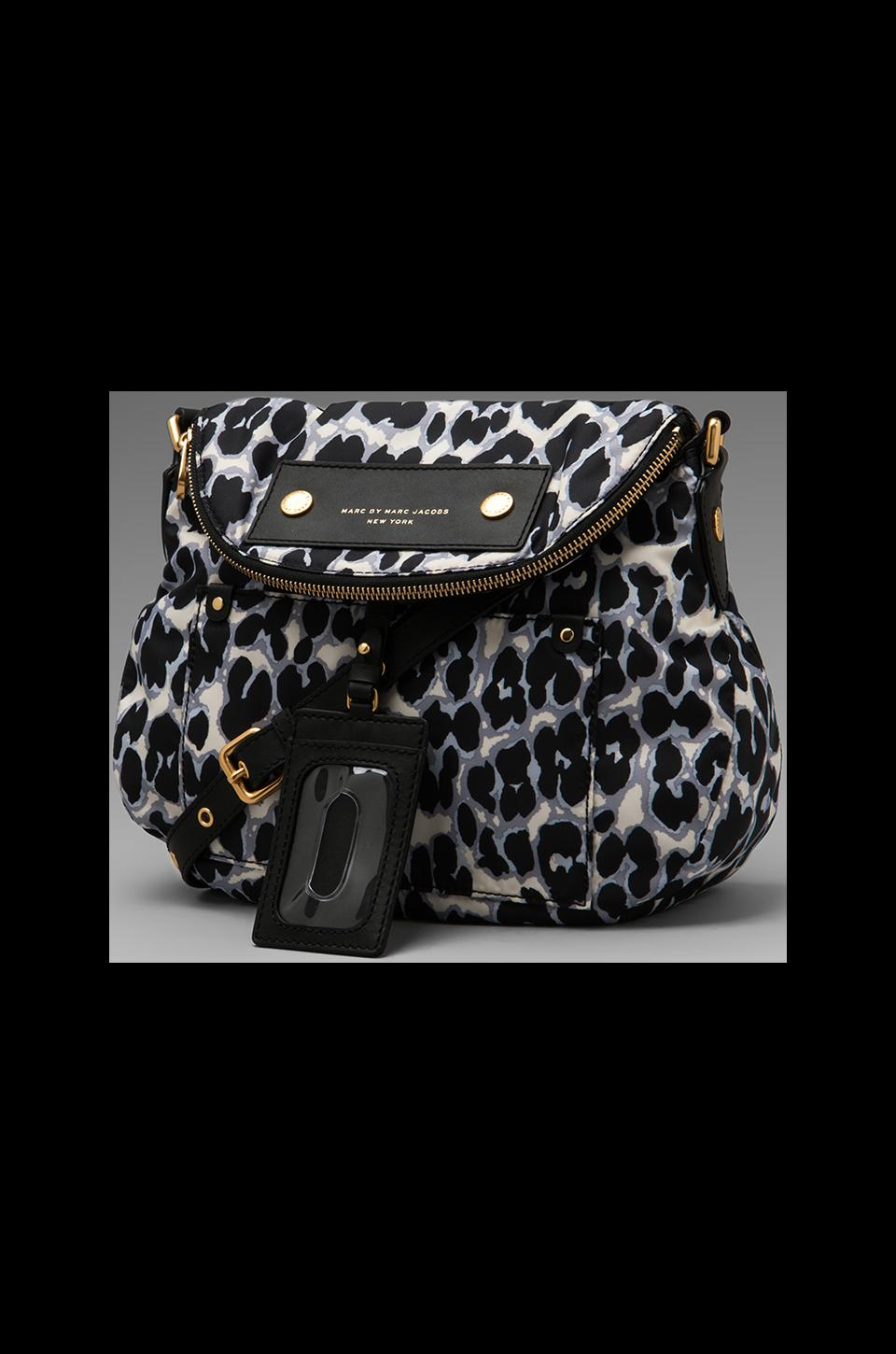 Marc by Marc Jacobs Preppy Nylon Printed Natasha in Elephant Grey Multi